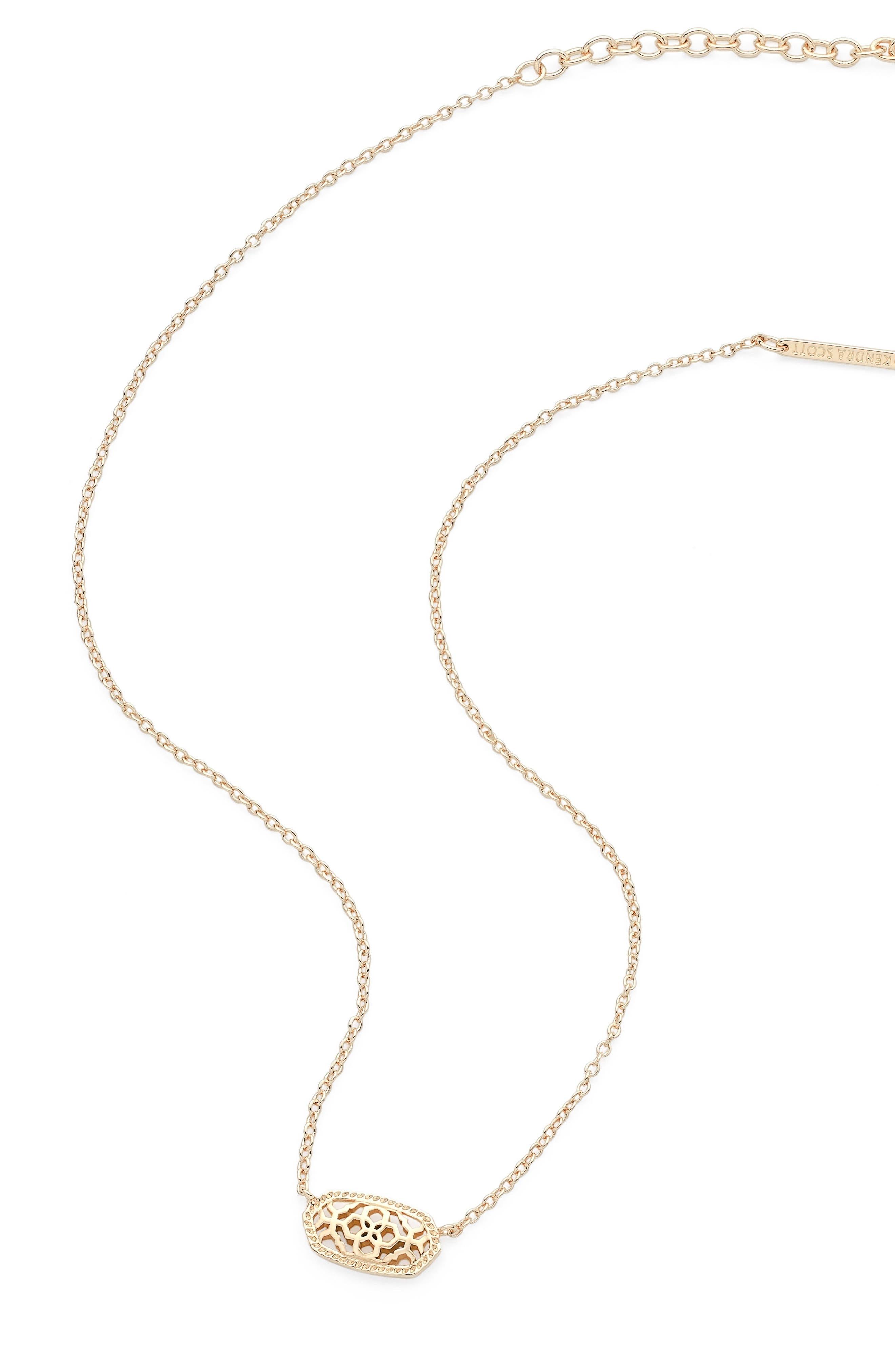 Alternate Image 2  - Kendra Scott Elisa Filigree Pendant Necklace