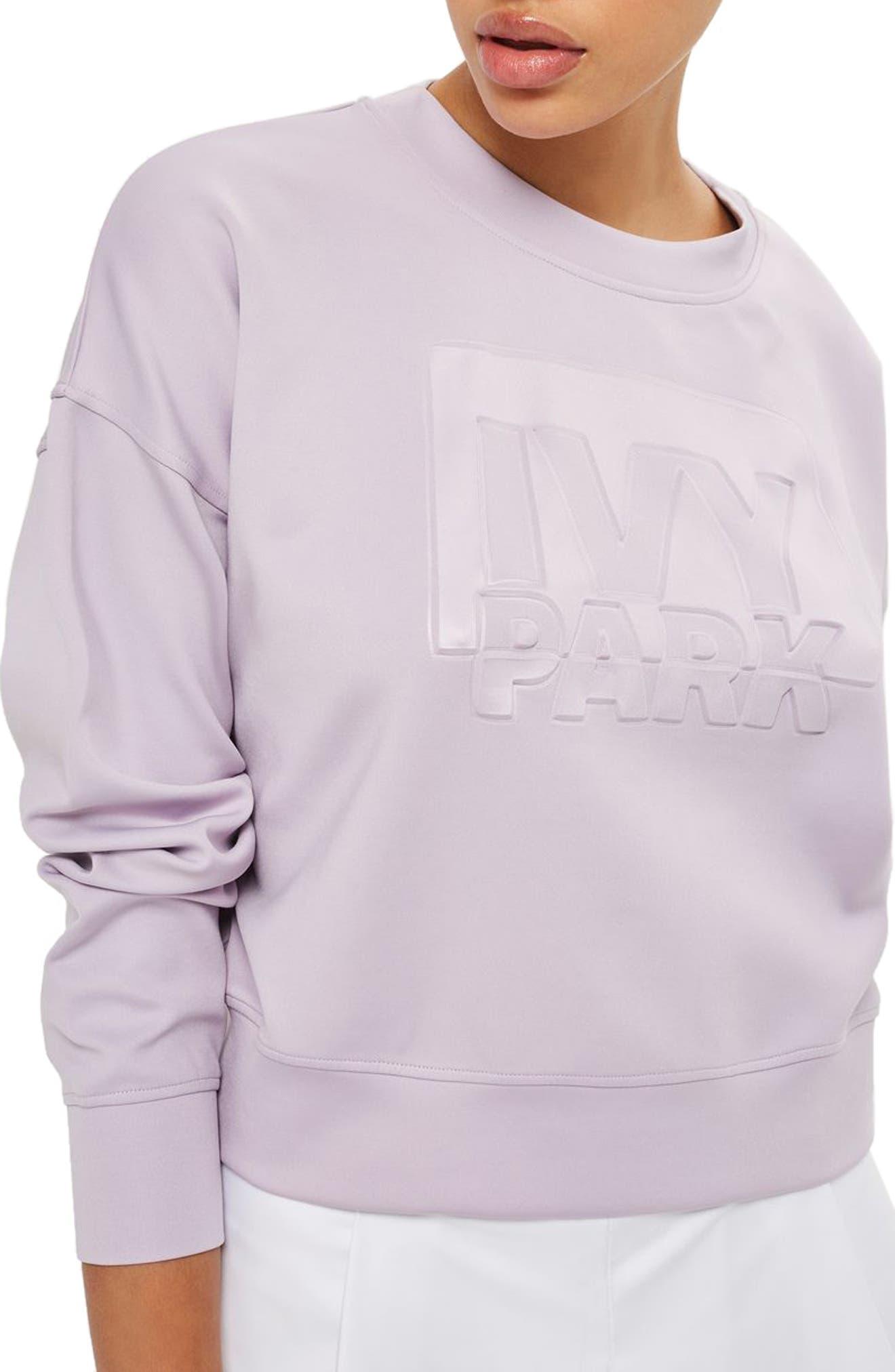 IVY PARK® Embossed Logo Sweatshirt
