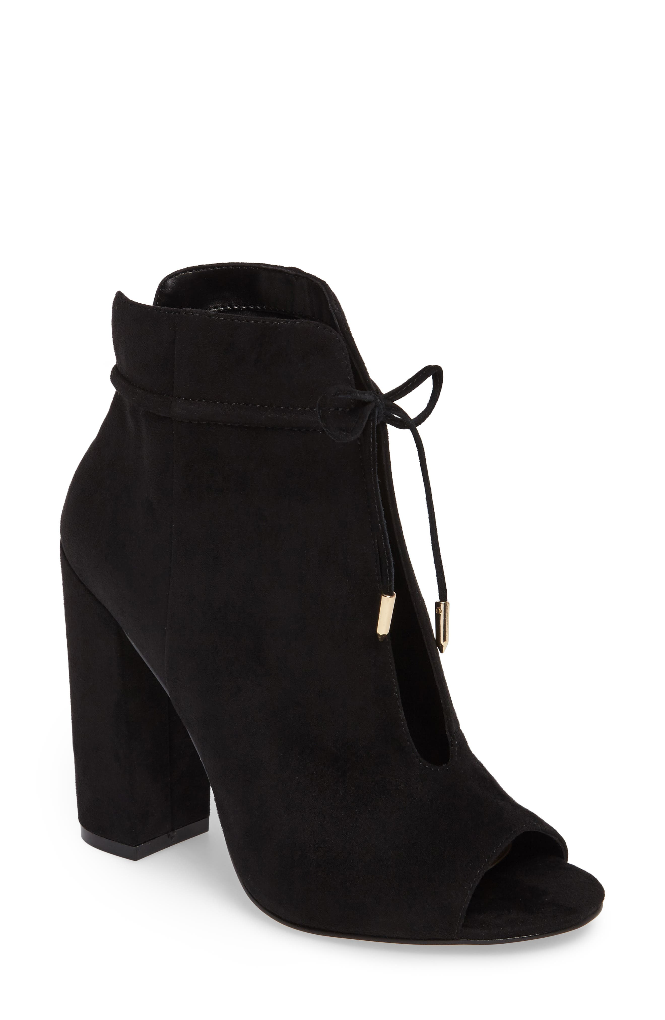 Daya by Zendaya Netty Open Toe Bootie (Women)
