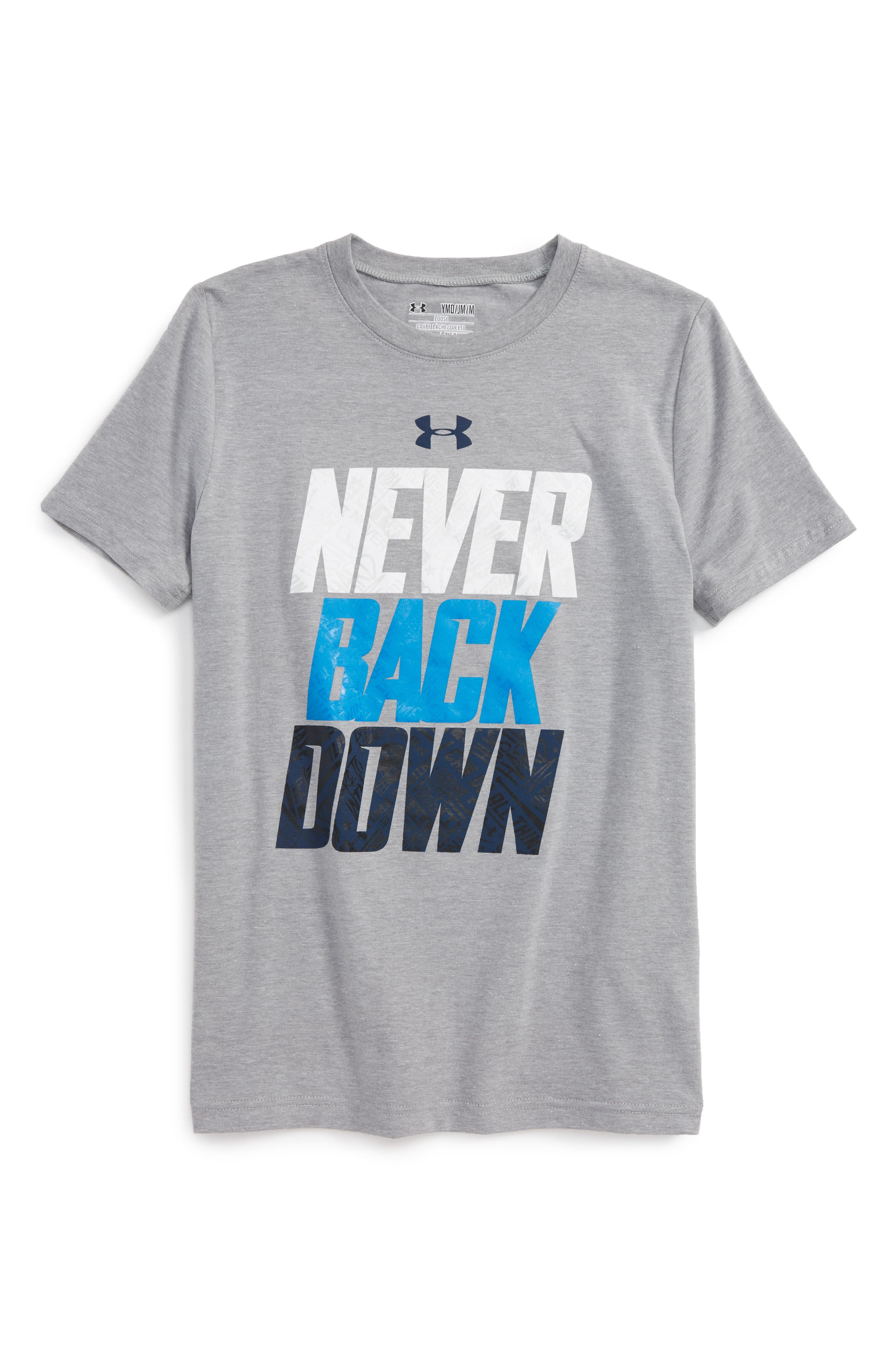 Under Armour Never Back Down T-Shirt (Little Boys & Big Boys)