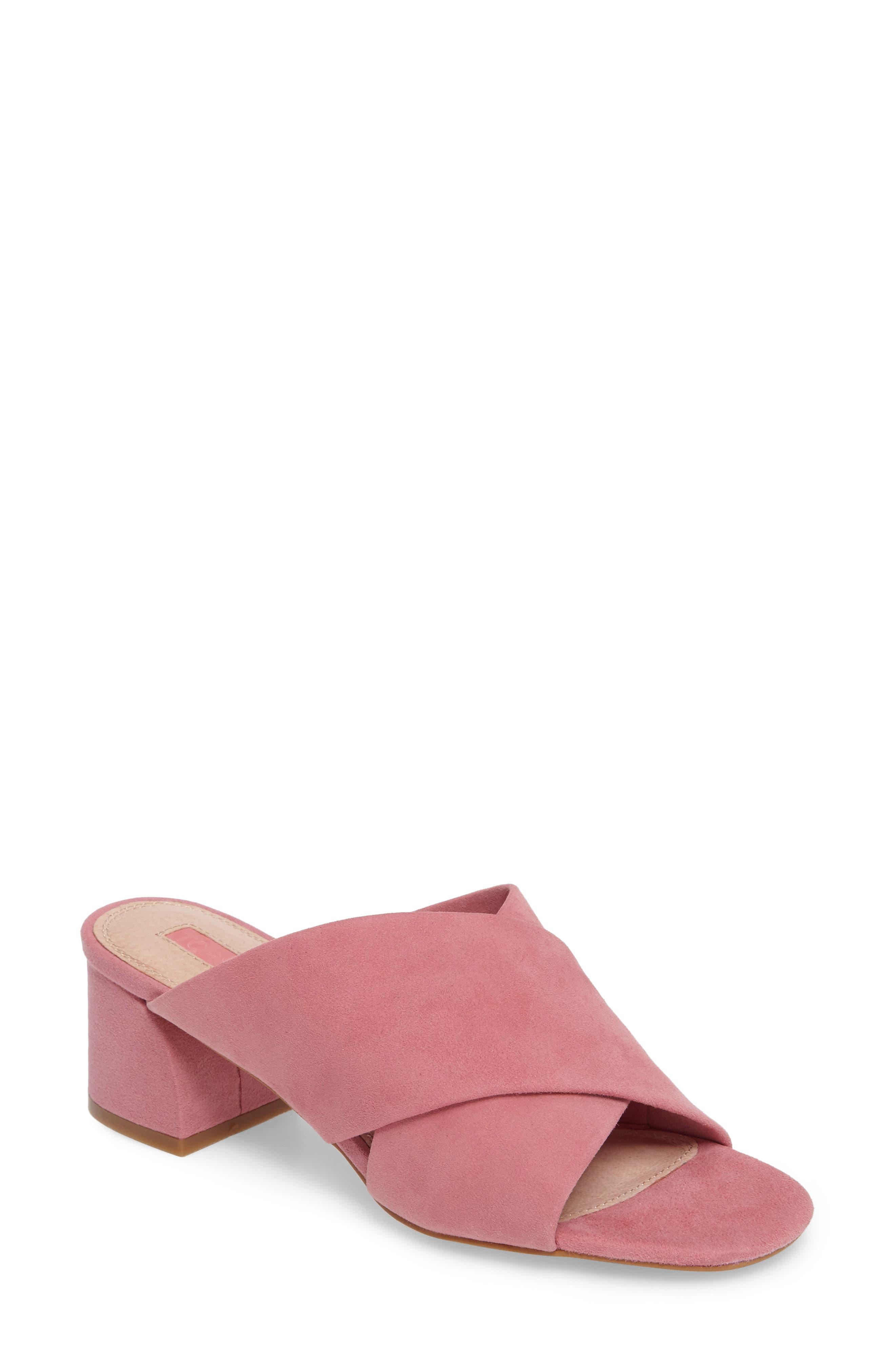 Topshop Norti Cross Strap Slide Sandal (Women)