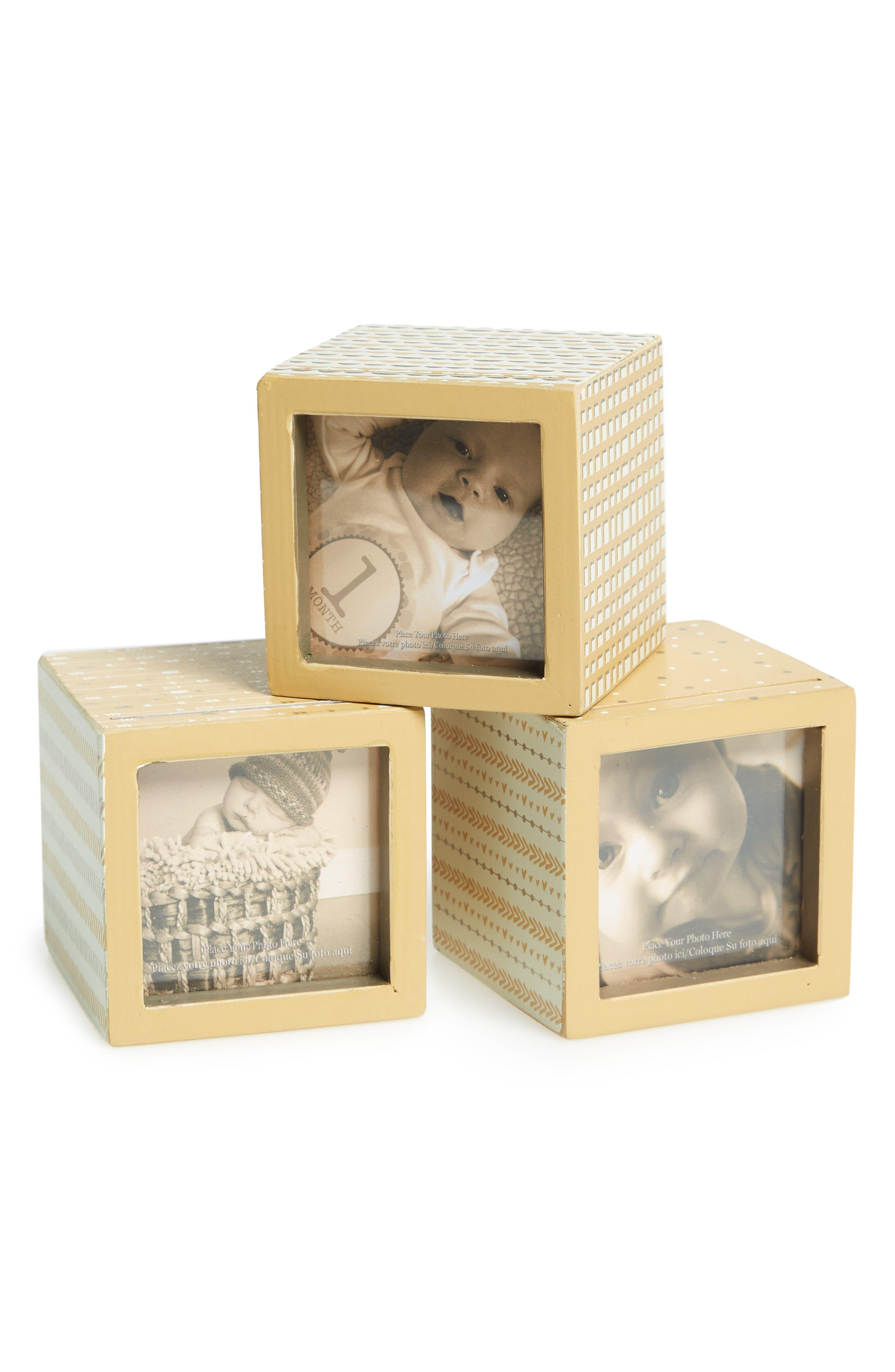 Primitives by Kathy Set of 3 Photo Blocks