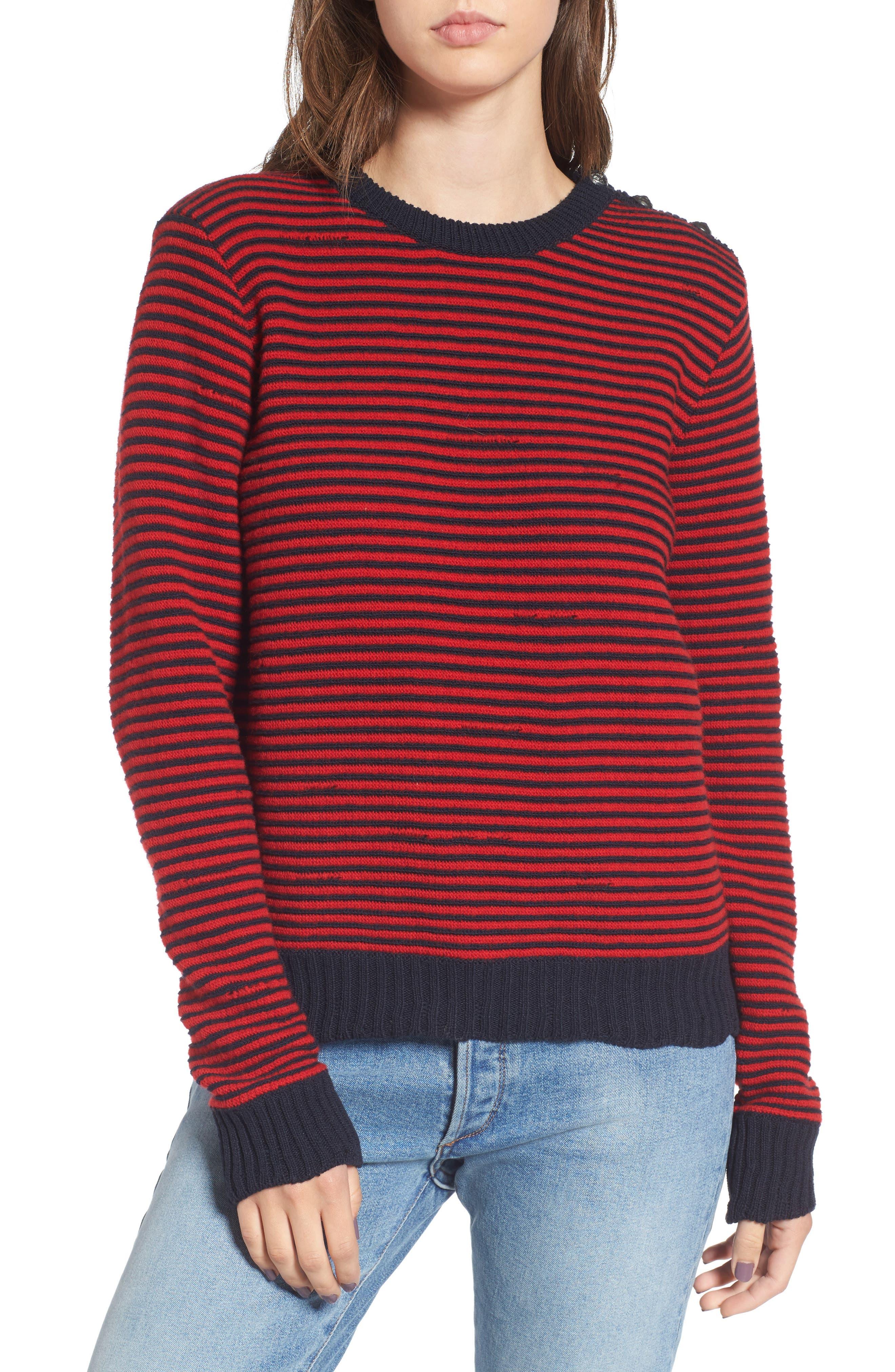 Zadig & Voltaire Jade Stripe Sweater