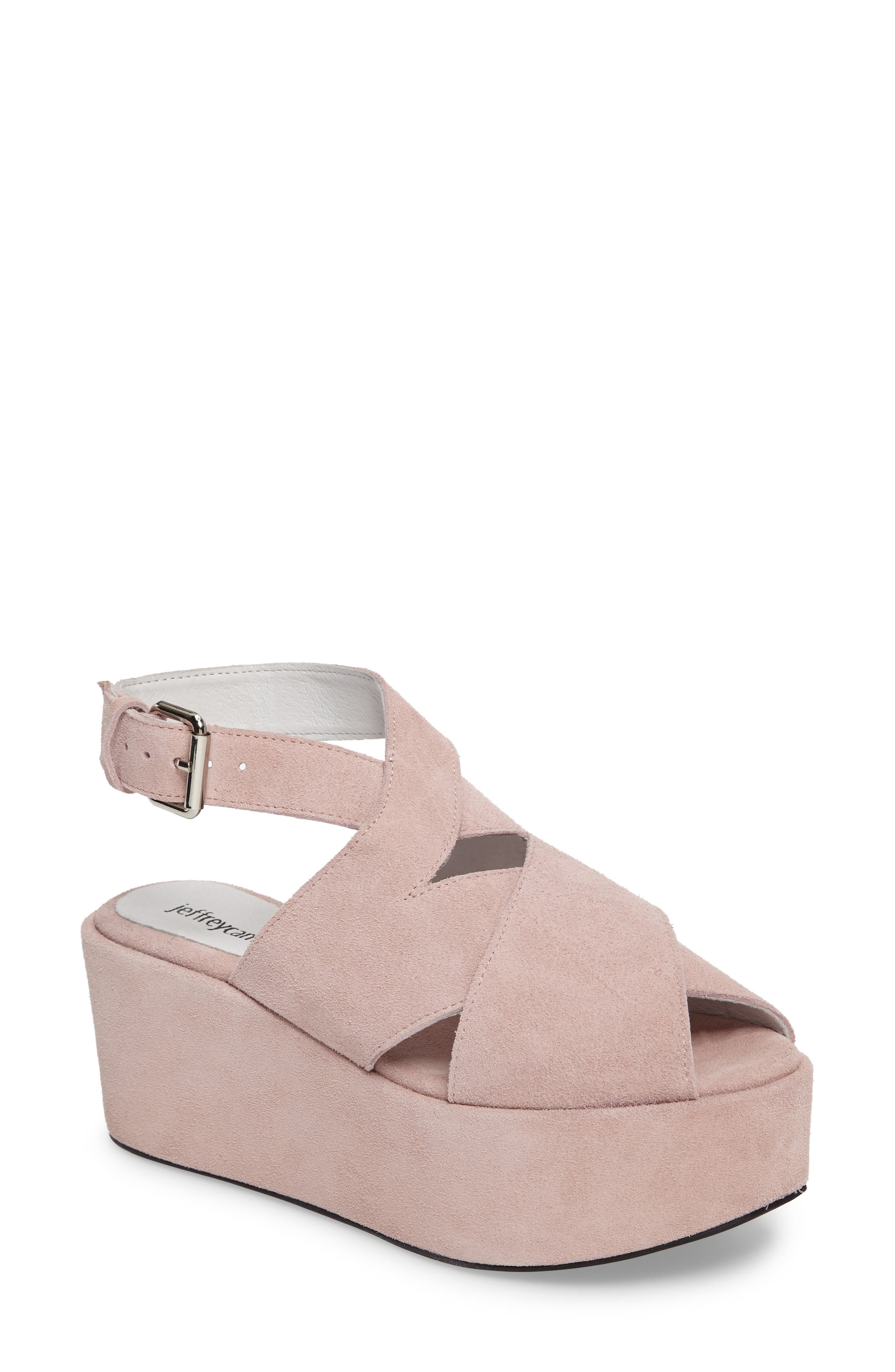 Jeffrey Campbell Larkport Slingback Platform Sandal (Women)