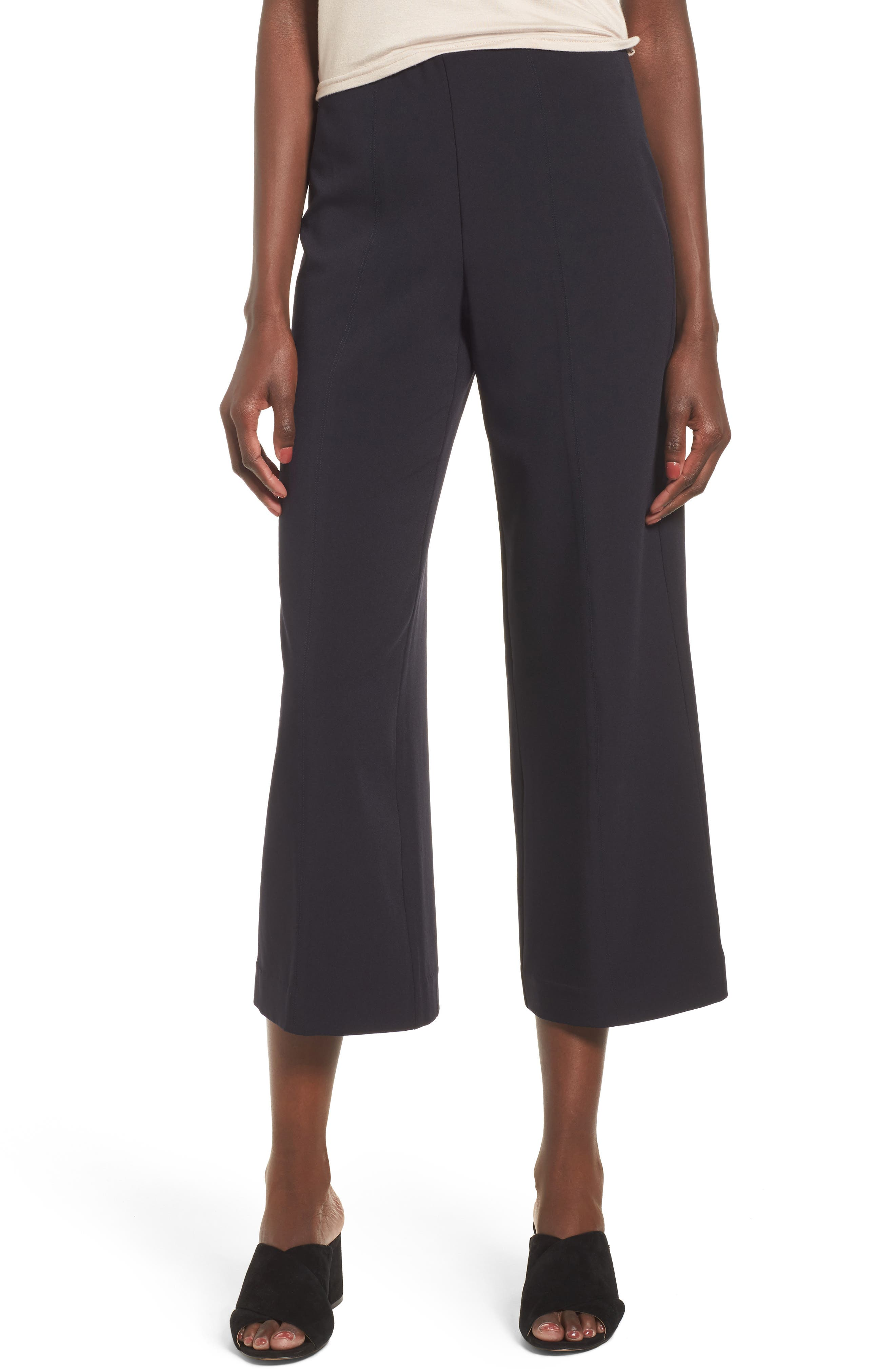 Moon River Crop Wide Leg Trousers
