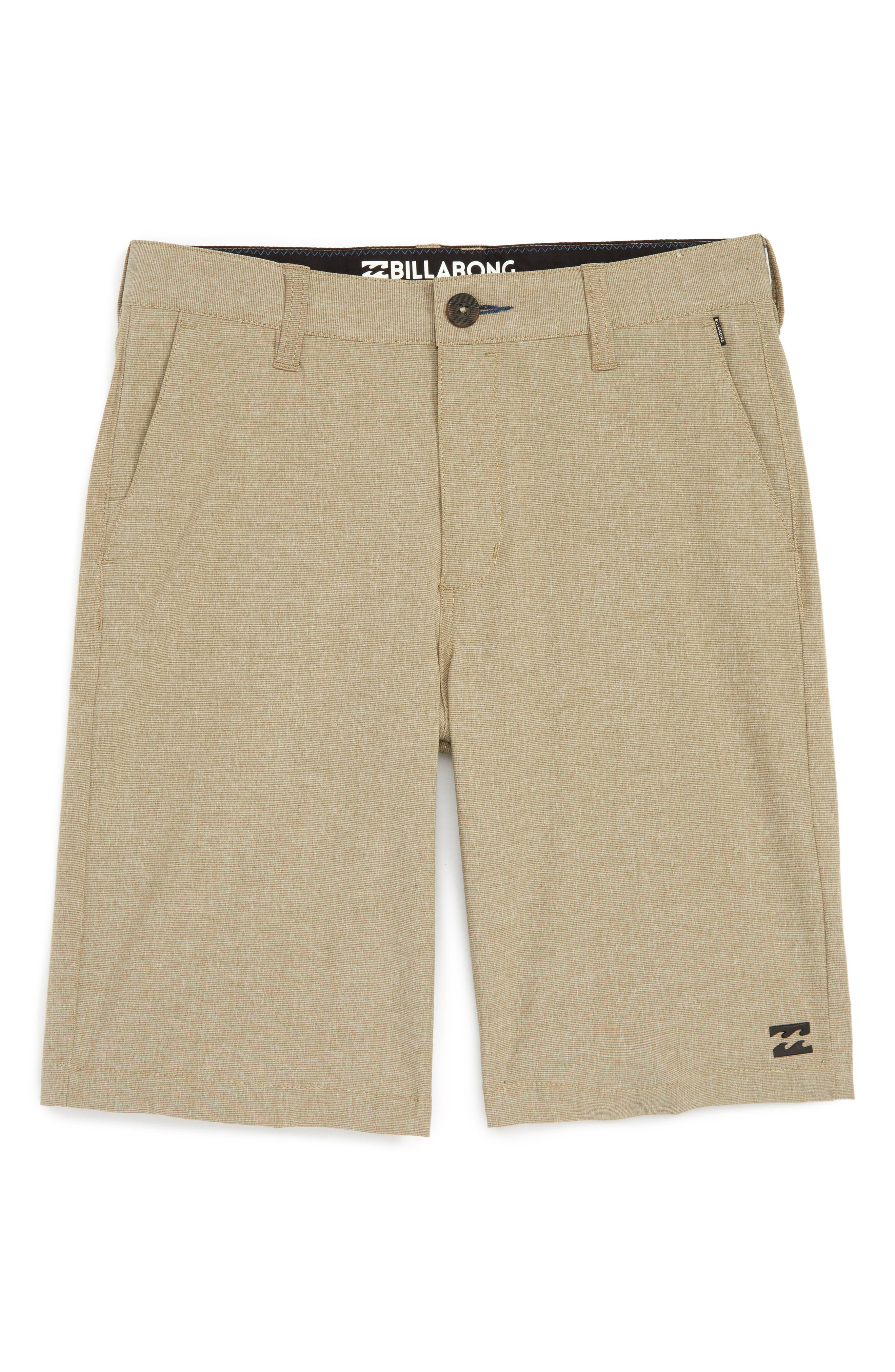 Billabong Crossfire X Submersible Hybrid Shorts (Toddler Boys, Little Boys & Big Boys)