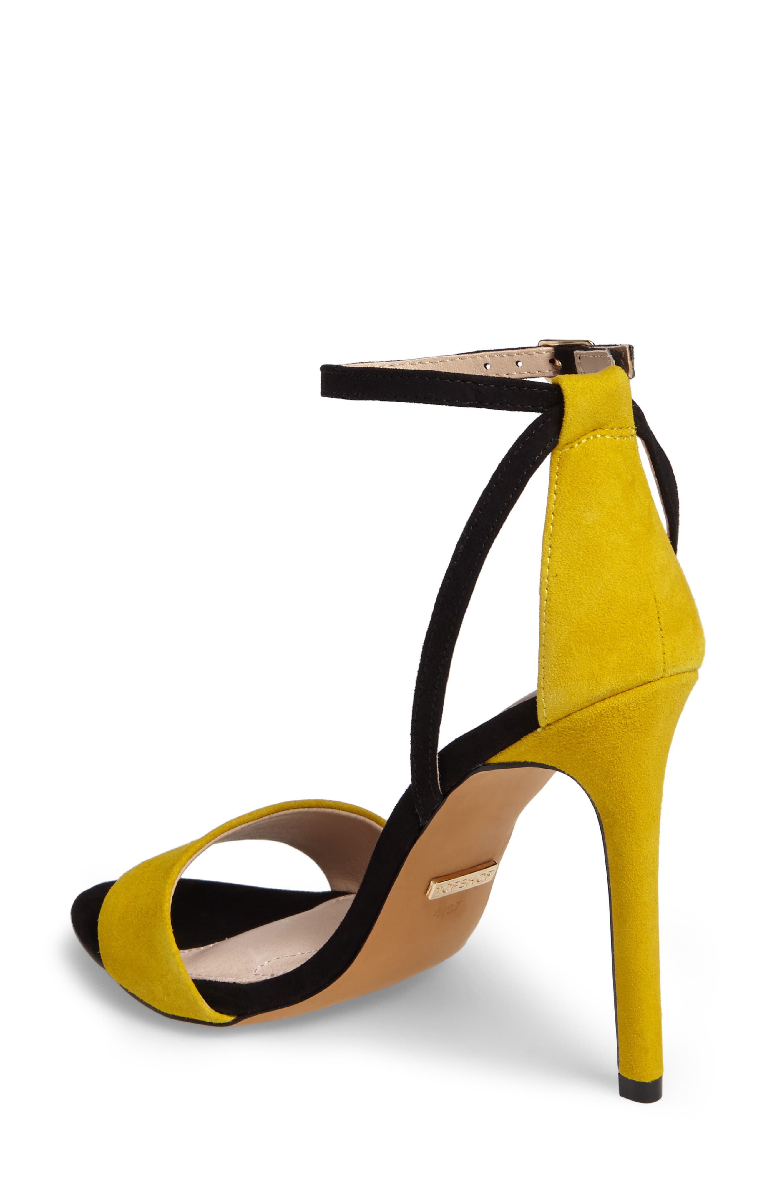 Alternate Image 2  - Topshop Raphael New Genuine Calf Hair Sandal (Women)