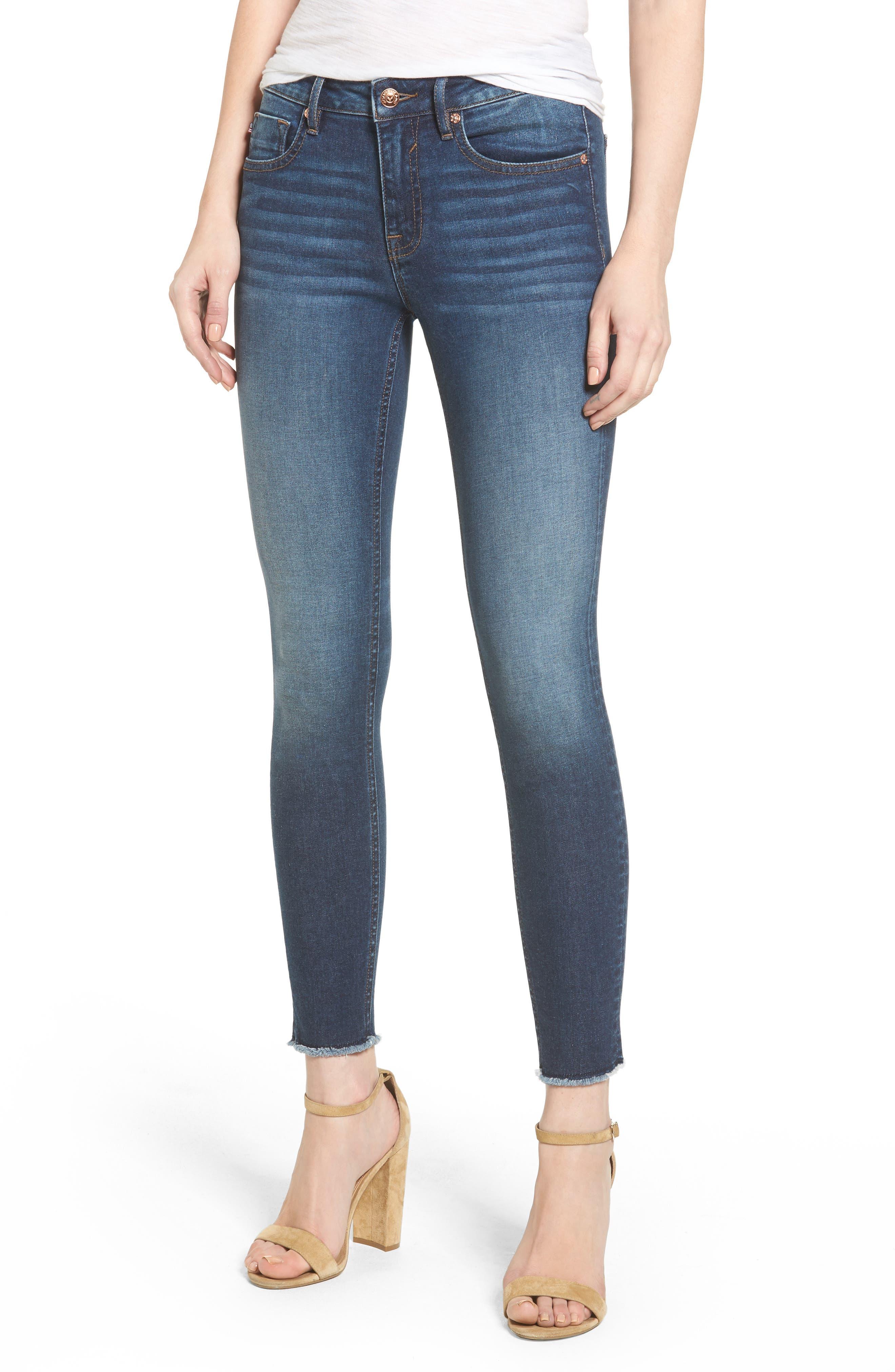 Vigoss Jagger High Waist Ankle Skinny Jeans