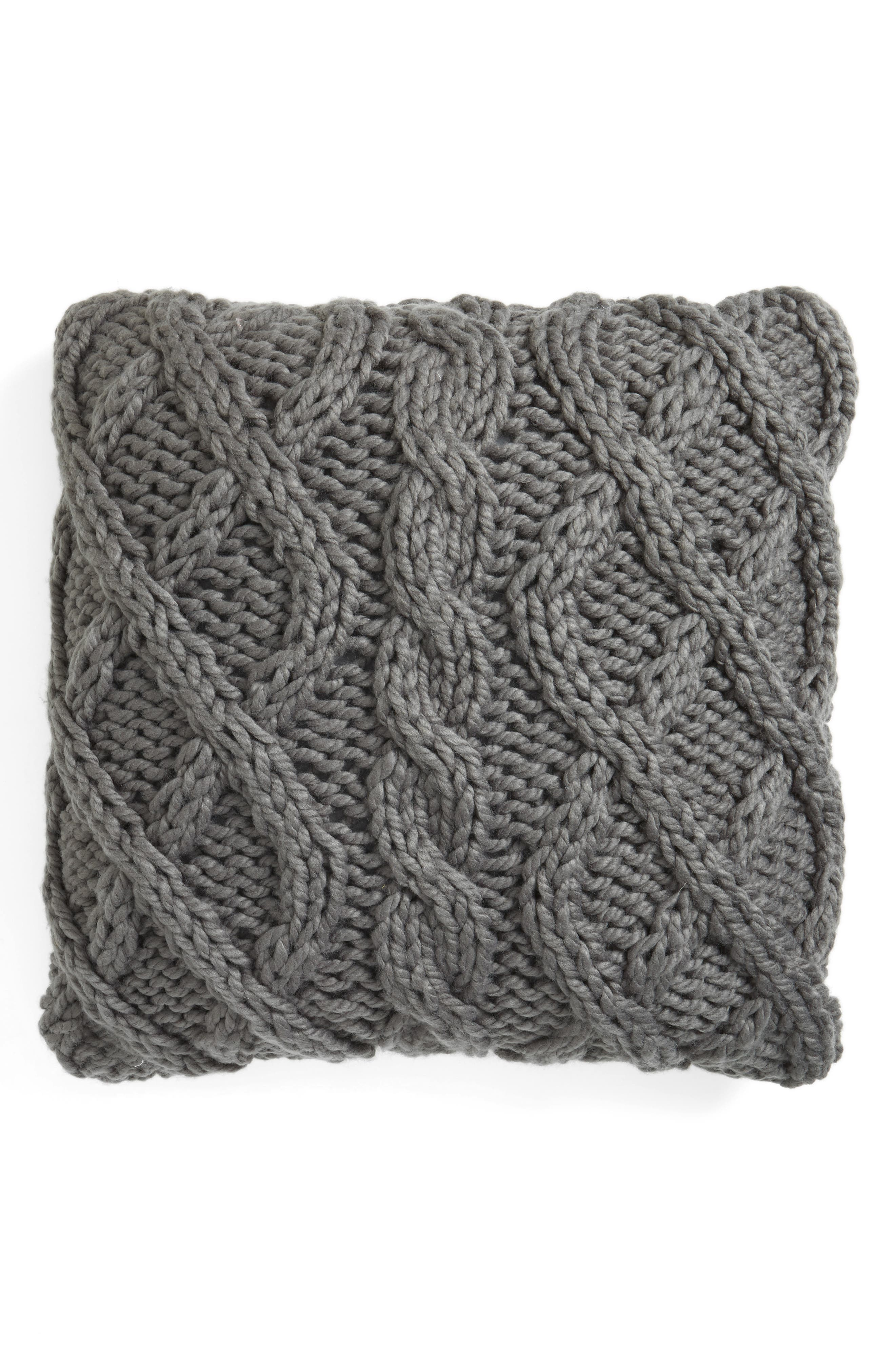 Nordstrom at Home Cable Knit Accent Pillow