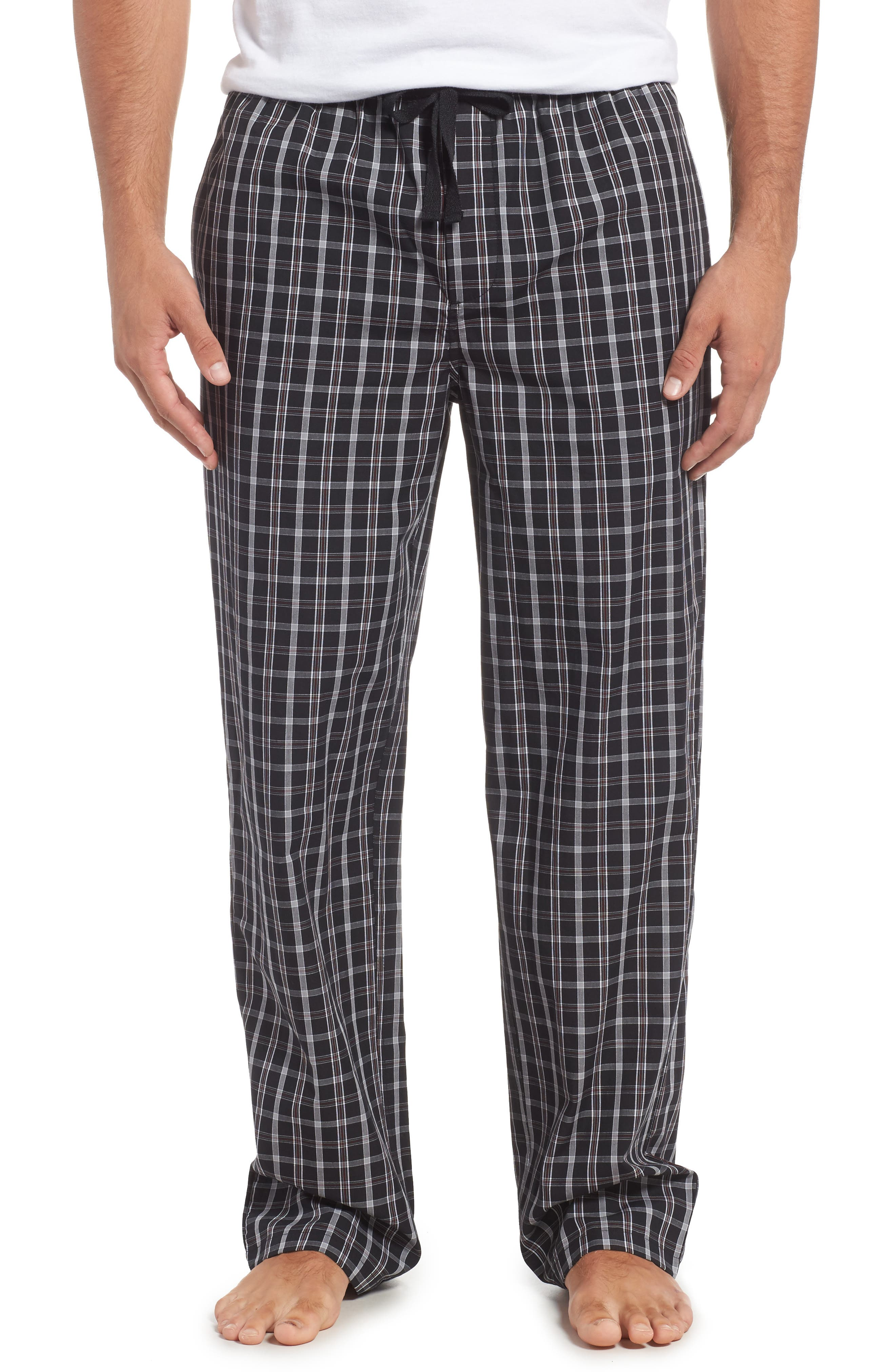 Nordstrom Men's Shop Poplin Lounge Pants
