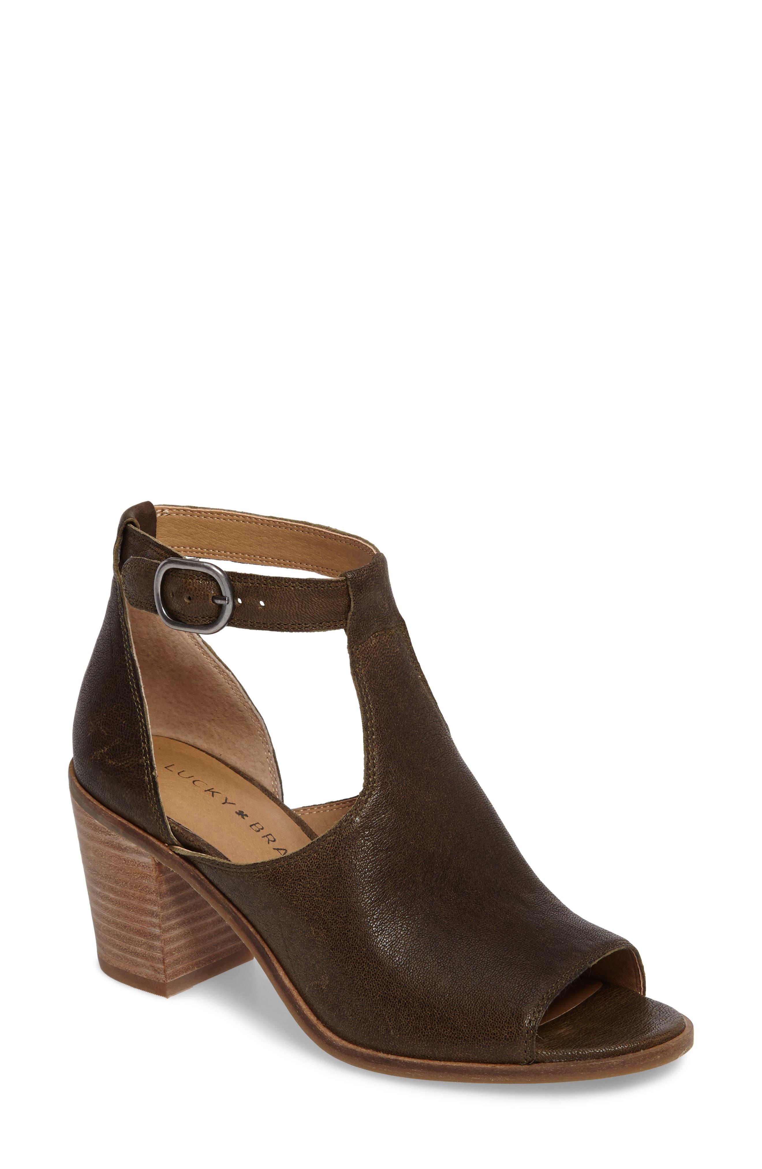 Lucky Brand Kadian Block Heel Sandal (Women)