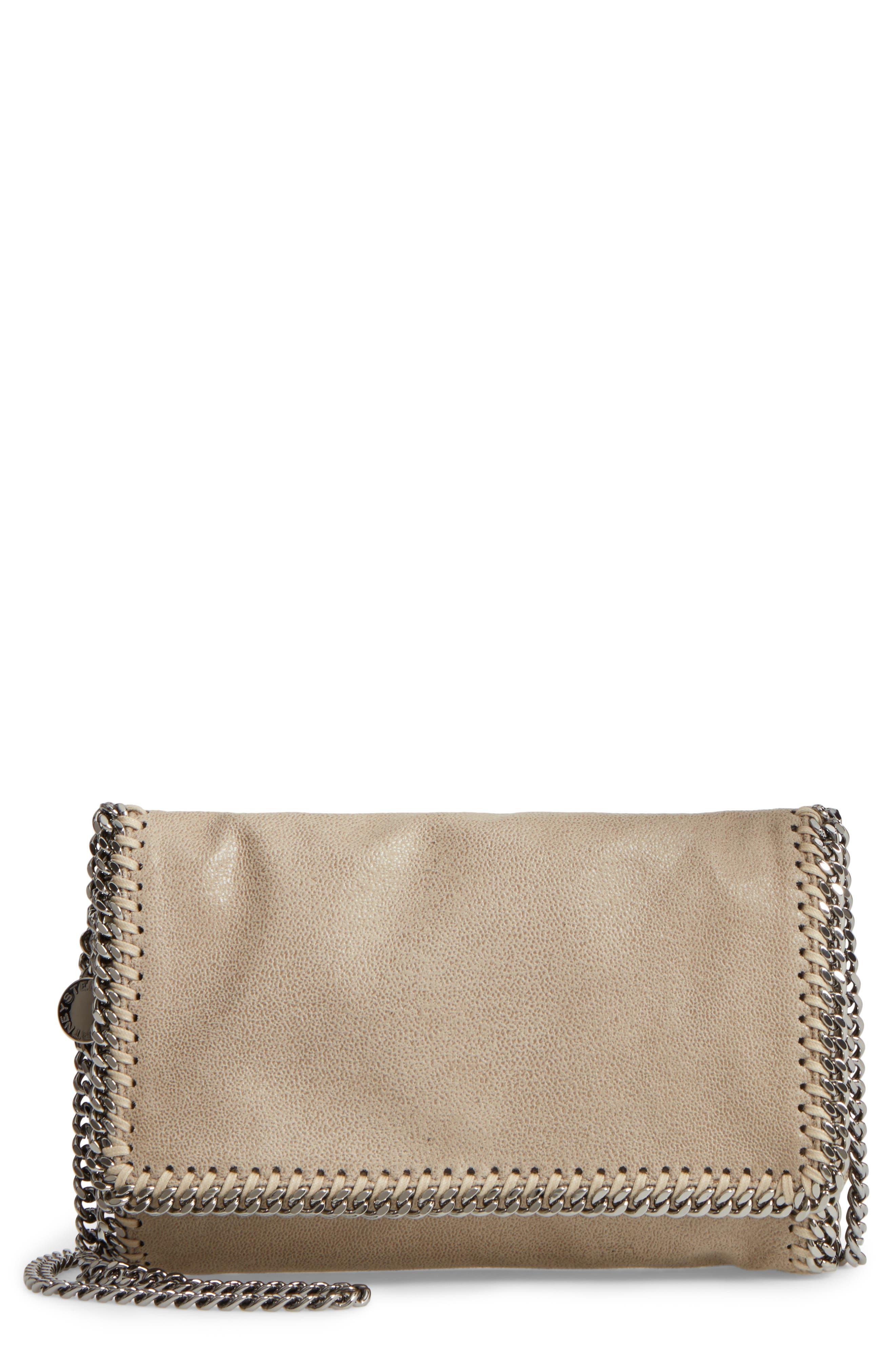 Stella McCartney 'Falabella - Shaggy Deer' Faux Leather Crossbody Bag