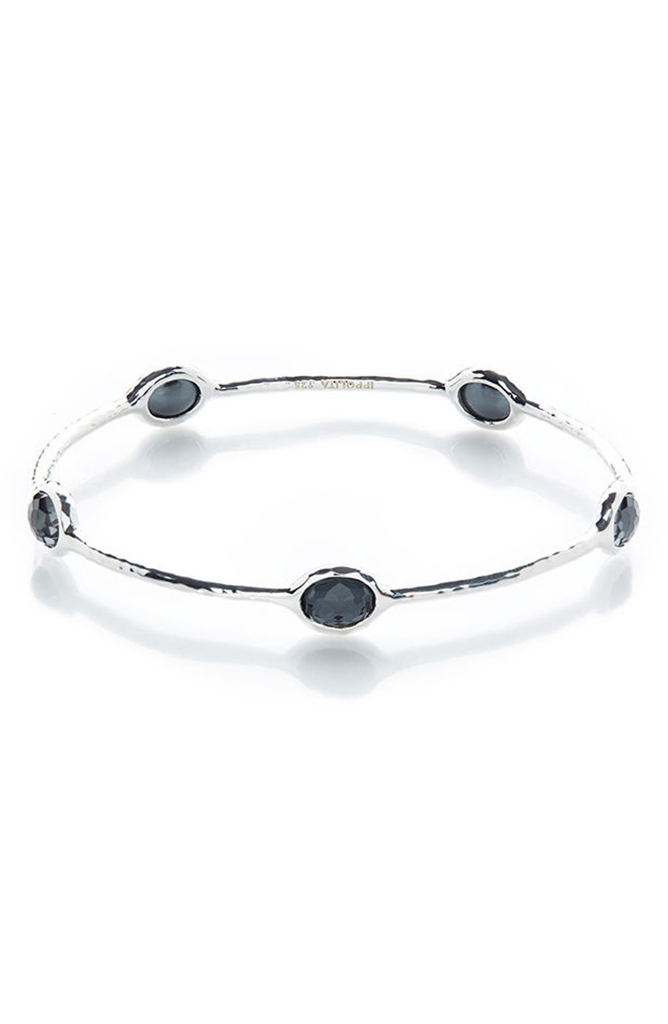 Alternate Image 1 Selected - Ippolita 'Rock Candy' 5-Stone Sterling Silver Bangle (Online Only)
