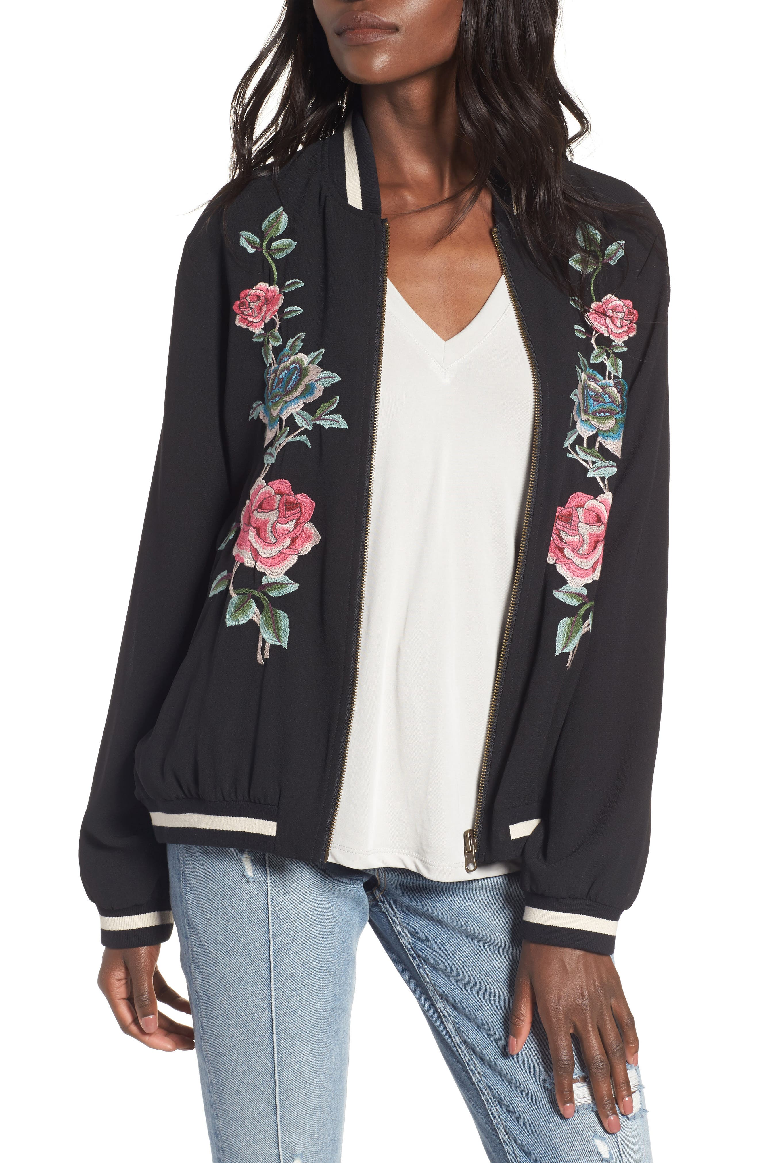 Show Me Your Mumu Reversible Bomber Jacket
