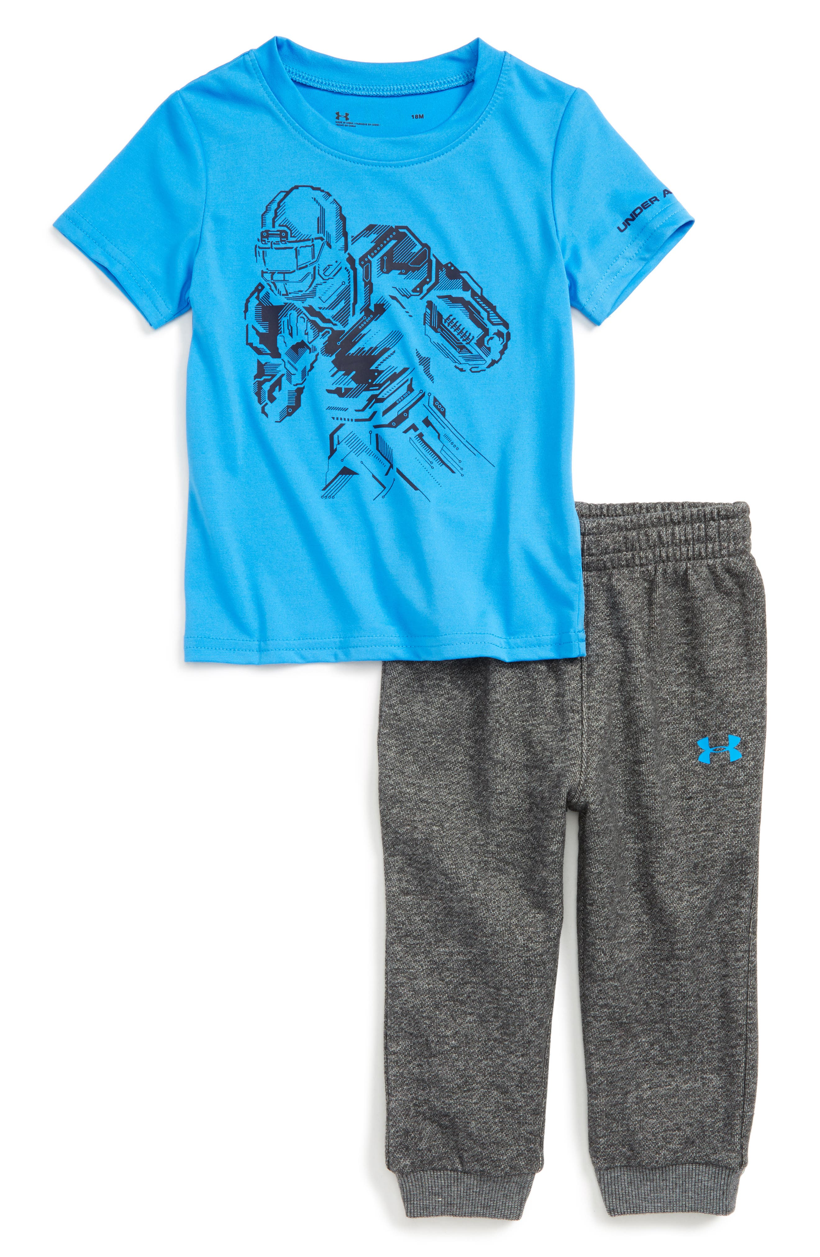 Under Armour Be Strong Be Fearless T-Shirt & Jogger Pants Set (Baby Boys)