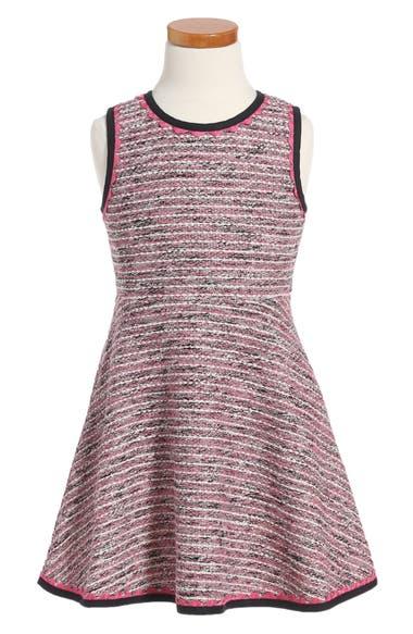 kate spade new york tweed dress (Big Girls)