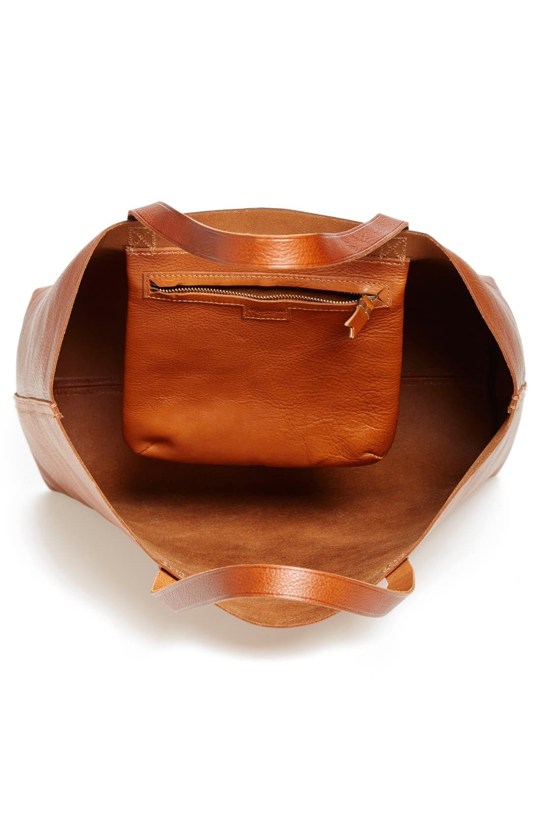 Alternate Image 4  - Madewell 'The Transport' Leather Tote
