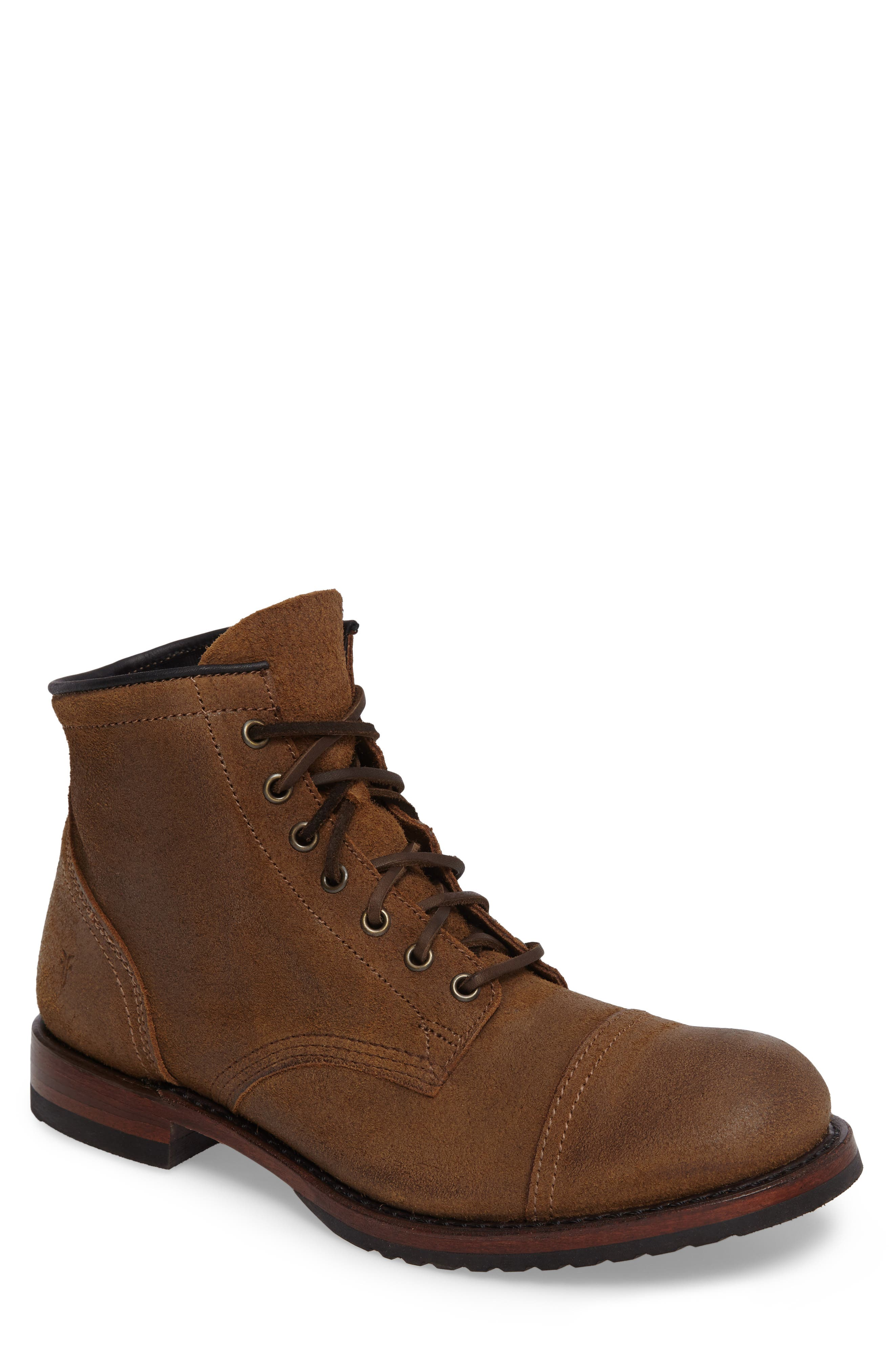 Frye Logan Cap Toe Boot (Men)