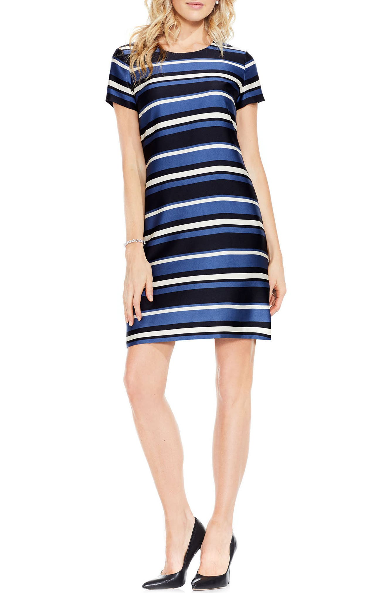 Vince Camuto Modern Chords Sheath Dress