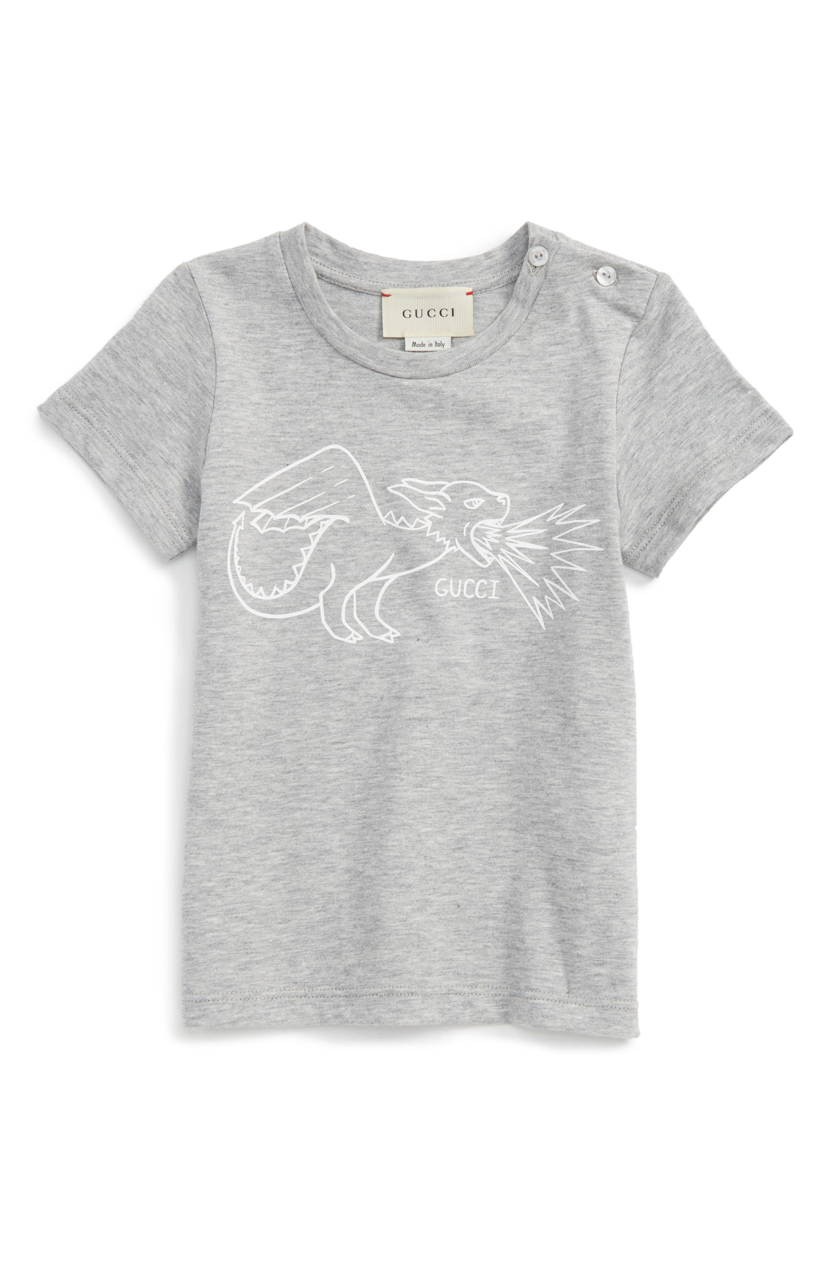Gucci Dragon Graphic T-Shirt (Baby)