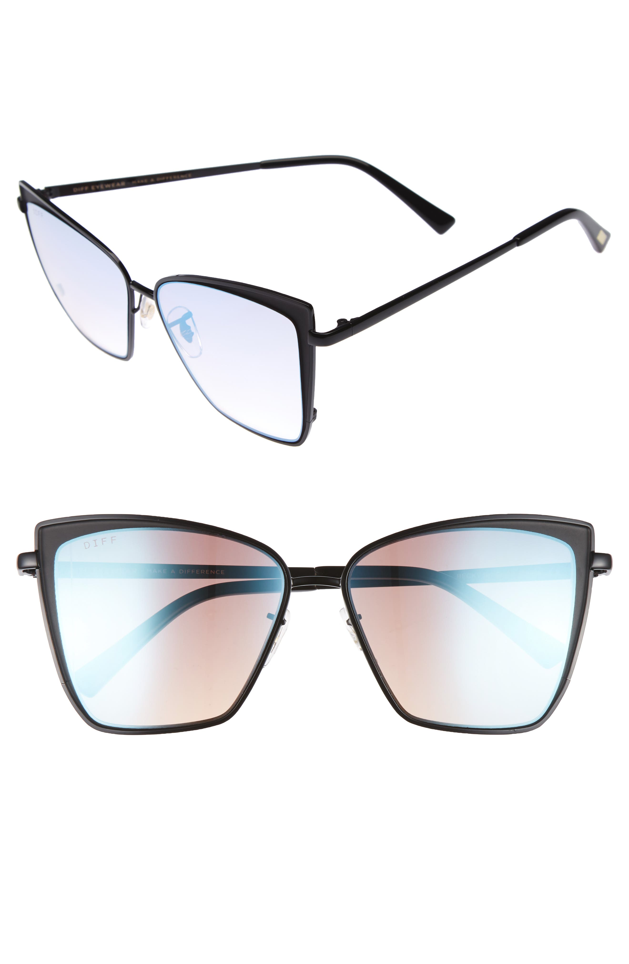 DIFF Becky 57mm Sunglasses