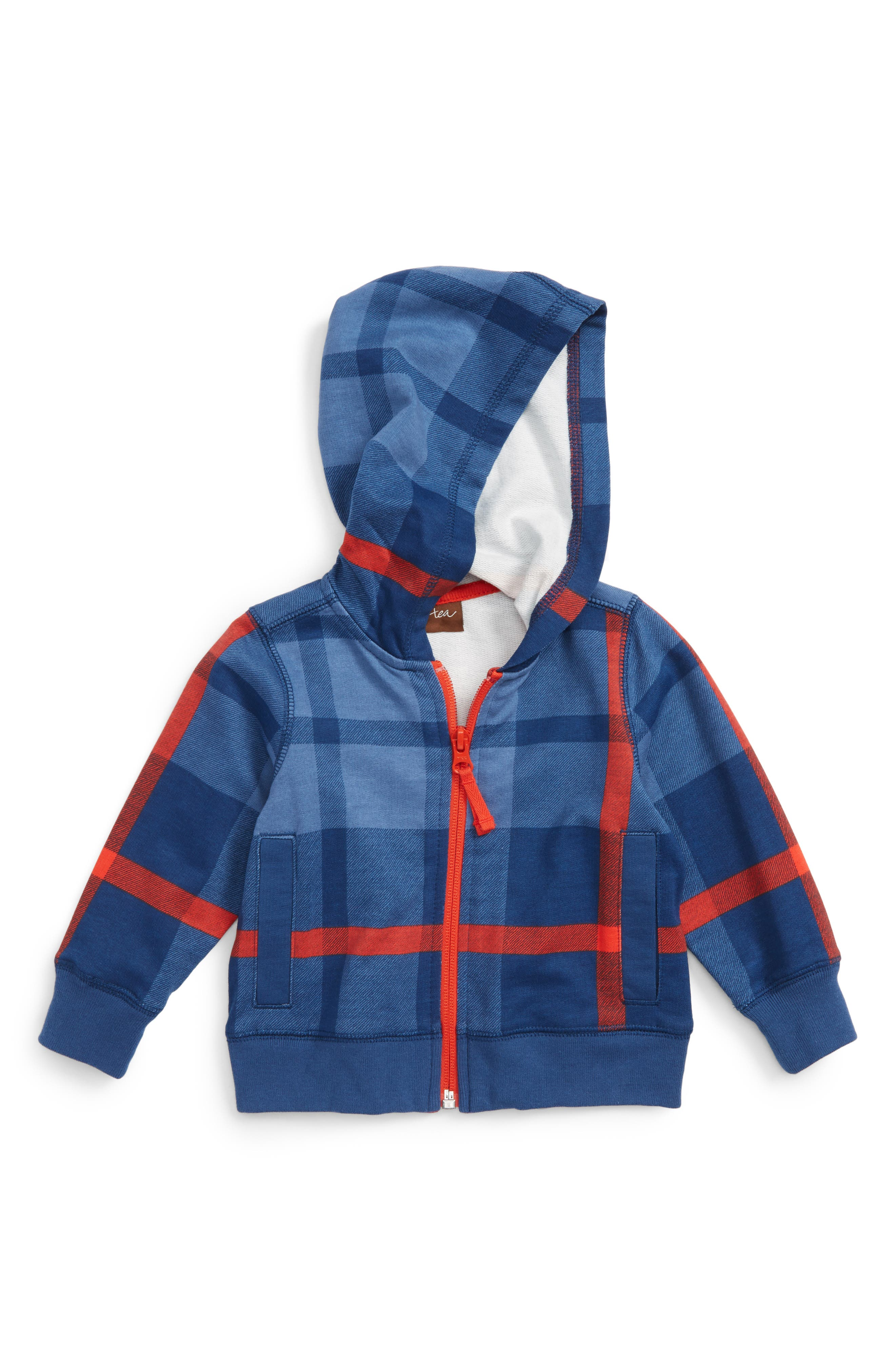 Tea Collection Archibald Hoodie (Baby Boys)