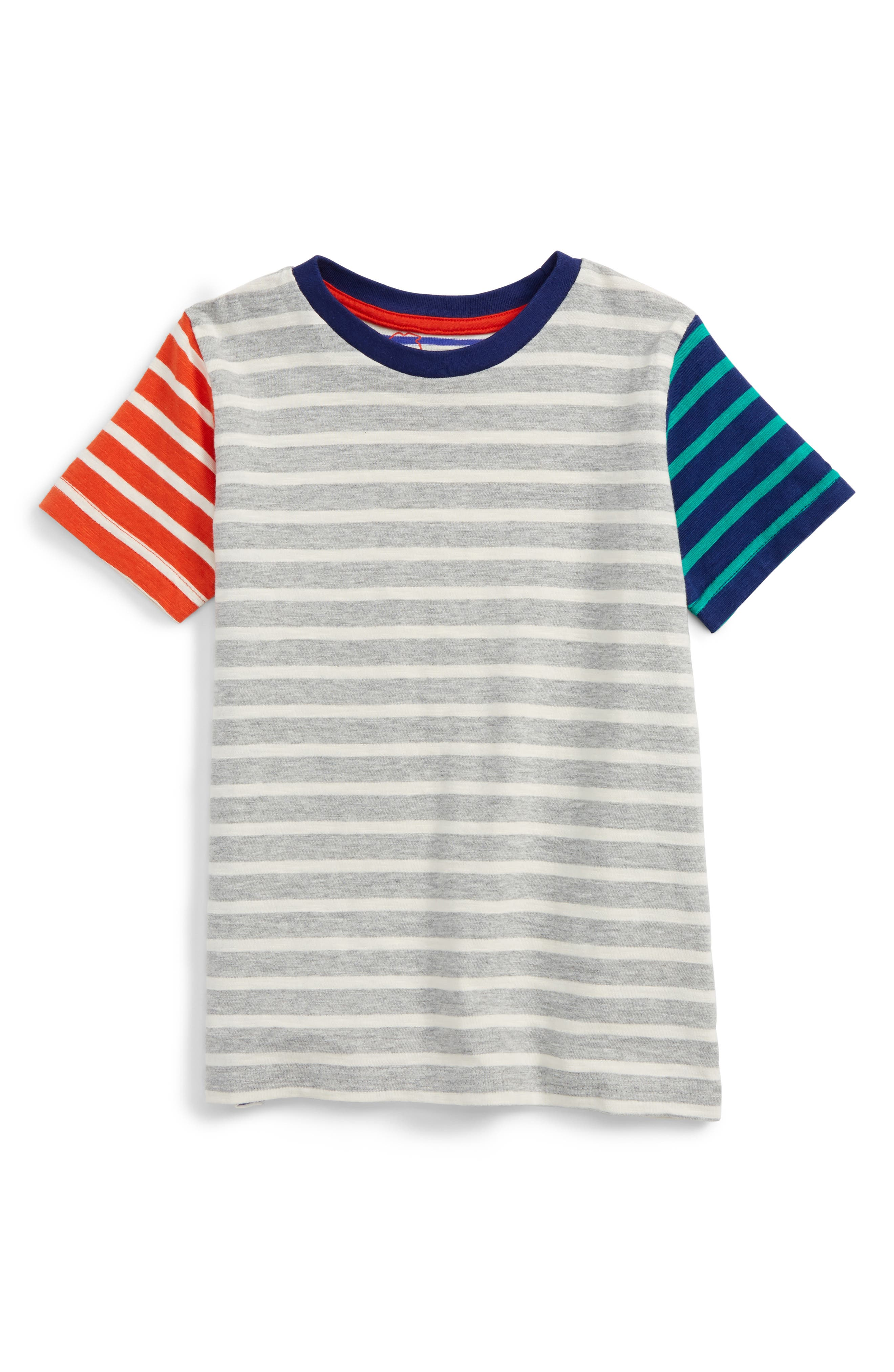 Mini Boden Stripe T-Shirt (Toddler Boys, Little Boys & Big Boys)