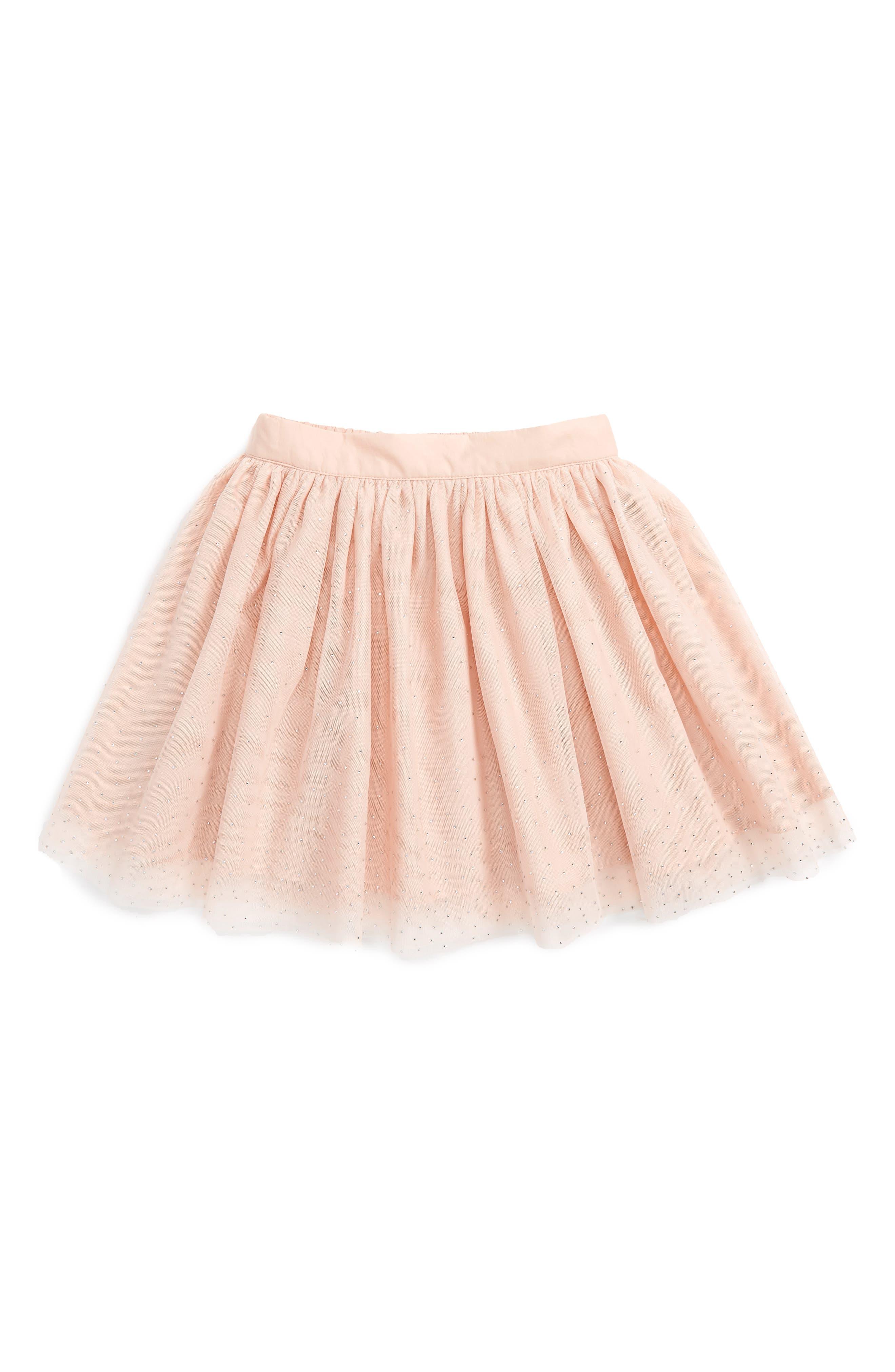 Stella McCartney Kids Honey Sparkle Tulle Skirt (Little Girls & Big Girls)