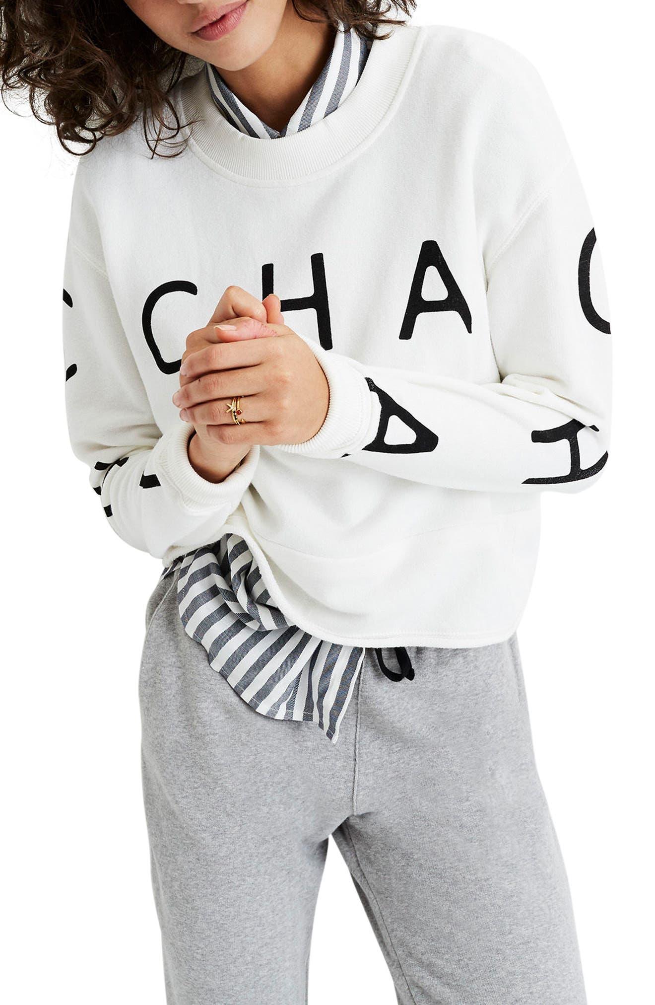 Madewell Cha Cha Cha Sweatshirt