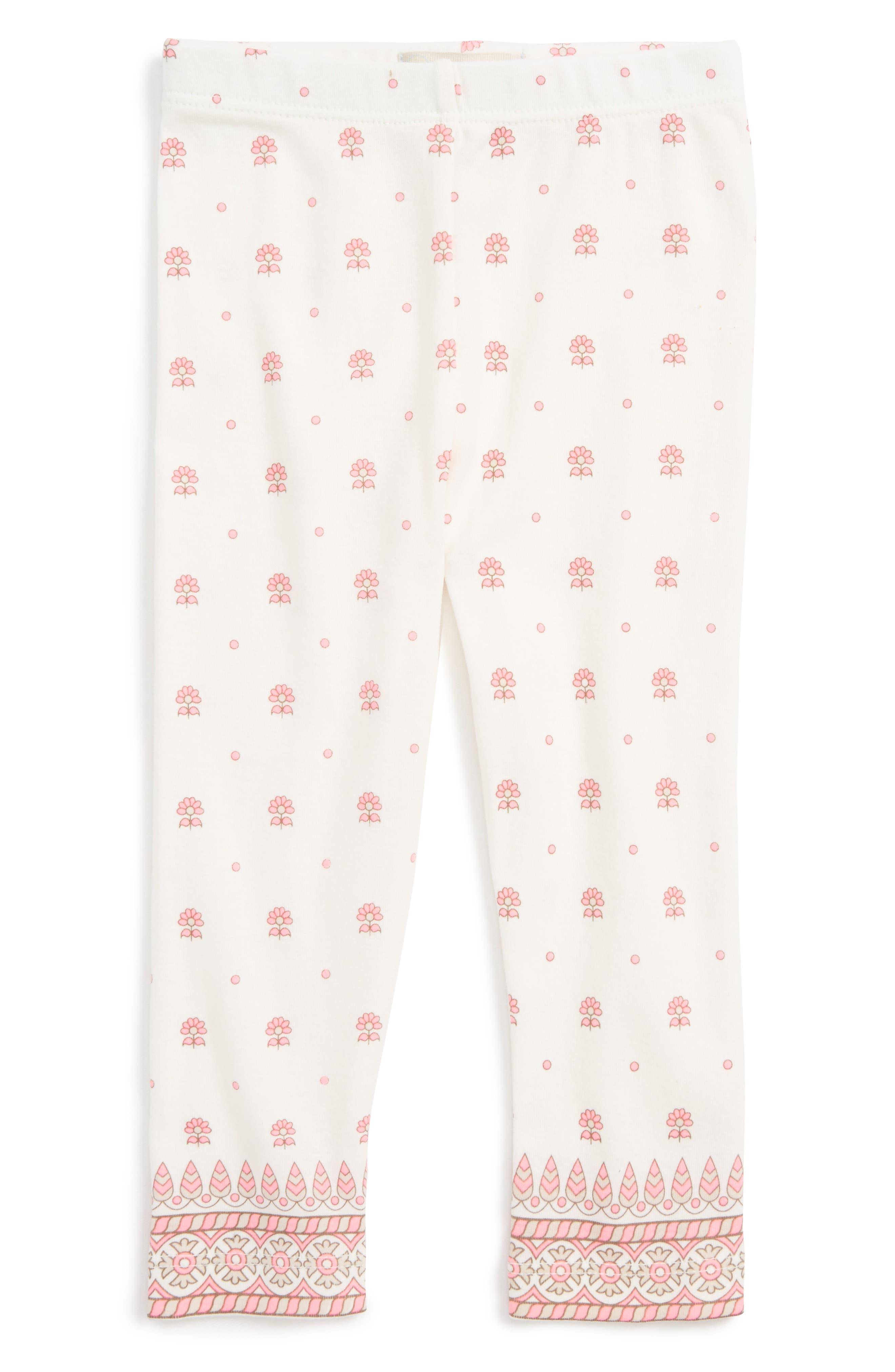 Peek Print Leggings (Baby Girls)