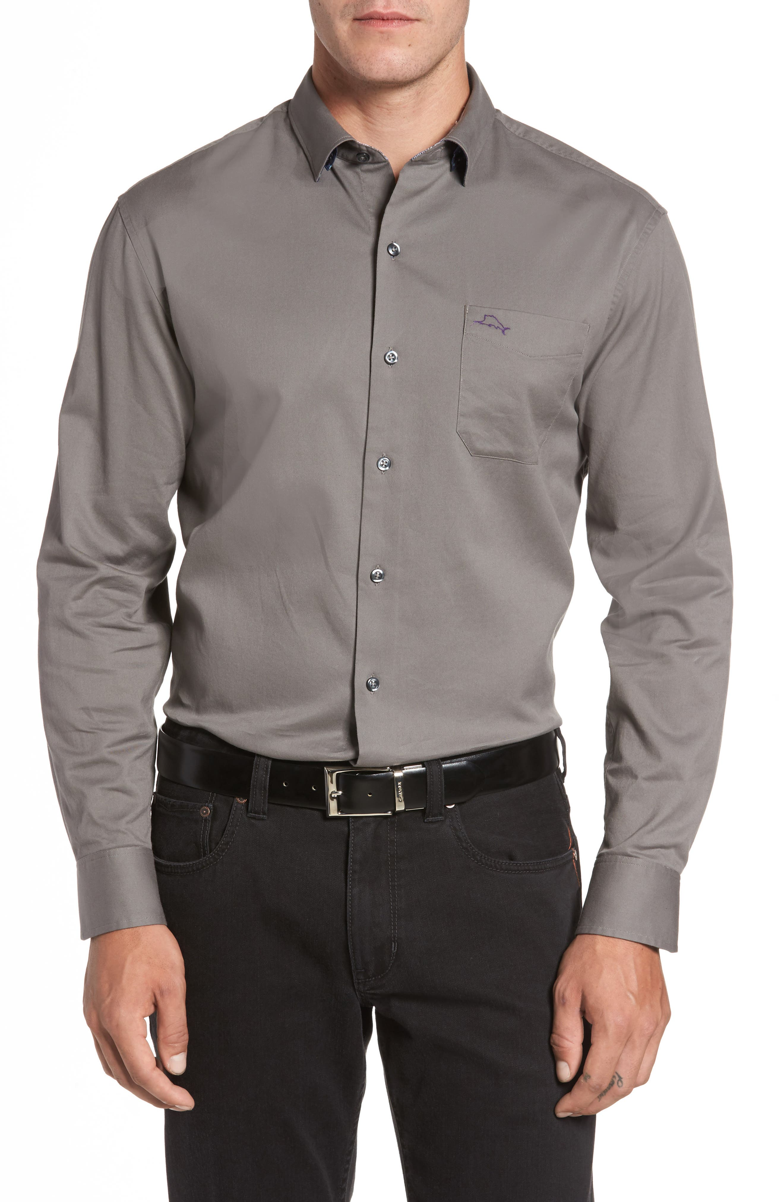 Tommy Bahama Oasis Twill Sport Shirt (Big & Tall)
