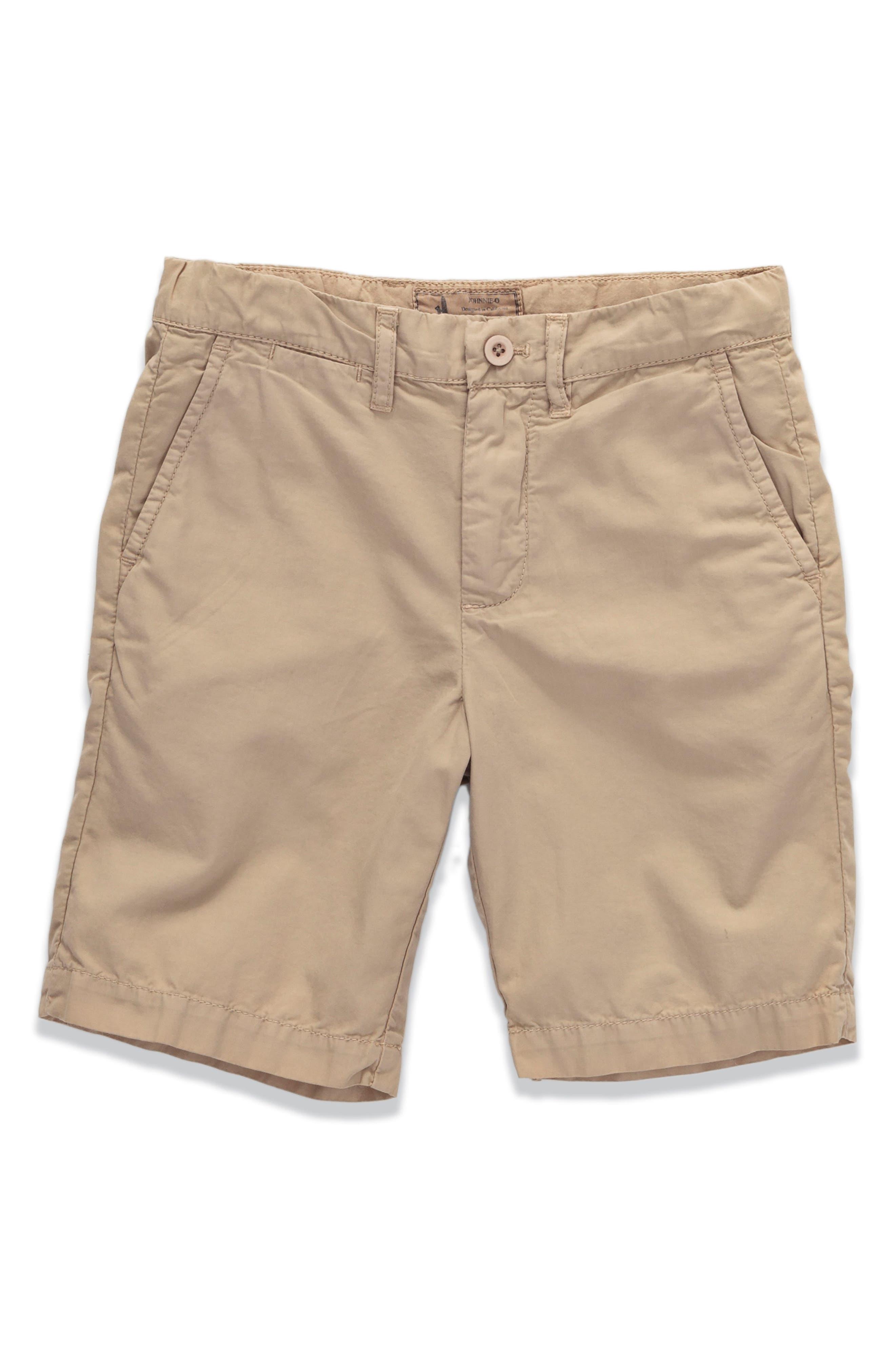 Johnnie-O Derby Poplin Shorts (Little Boys & Big Boys)