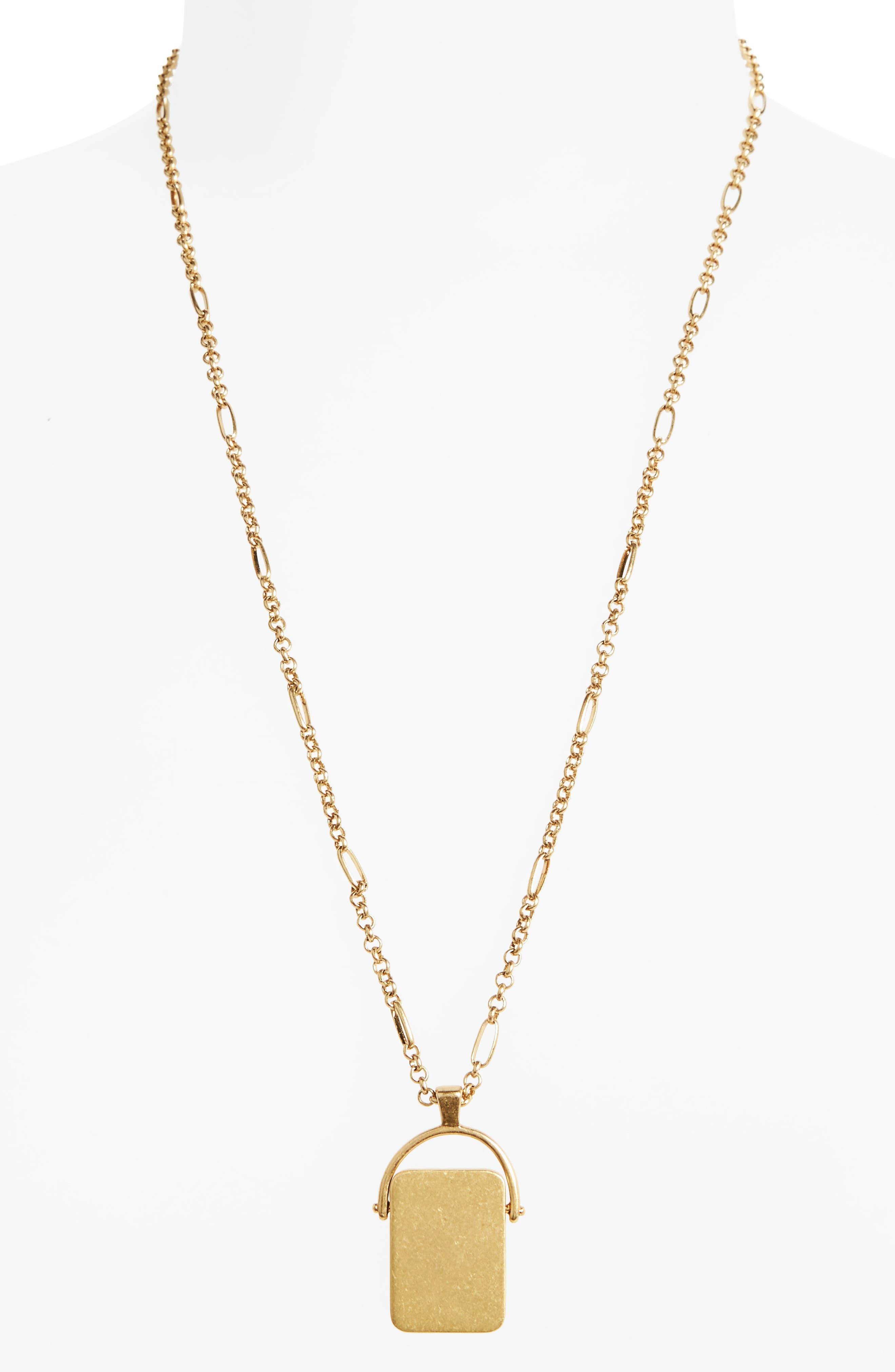 Madewell Spinning Pendant Necklace