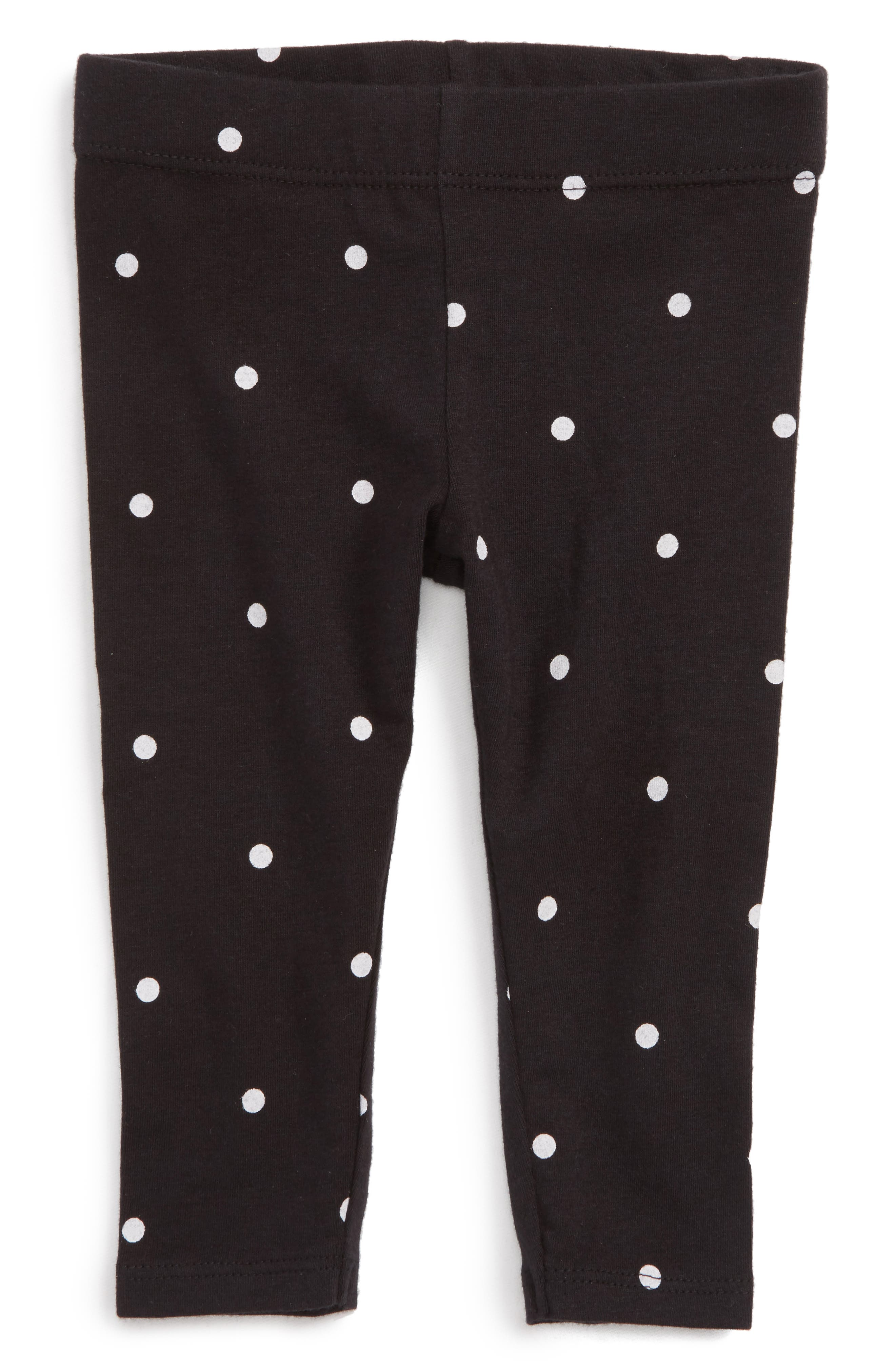 Tucker + Tate Floral Print Leggings (Baby Girls)