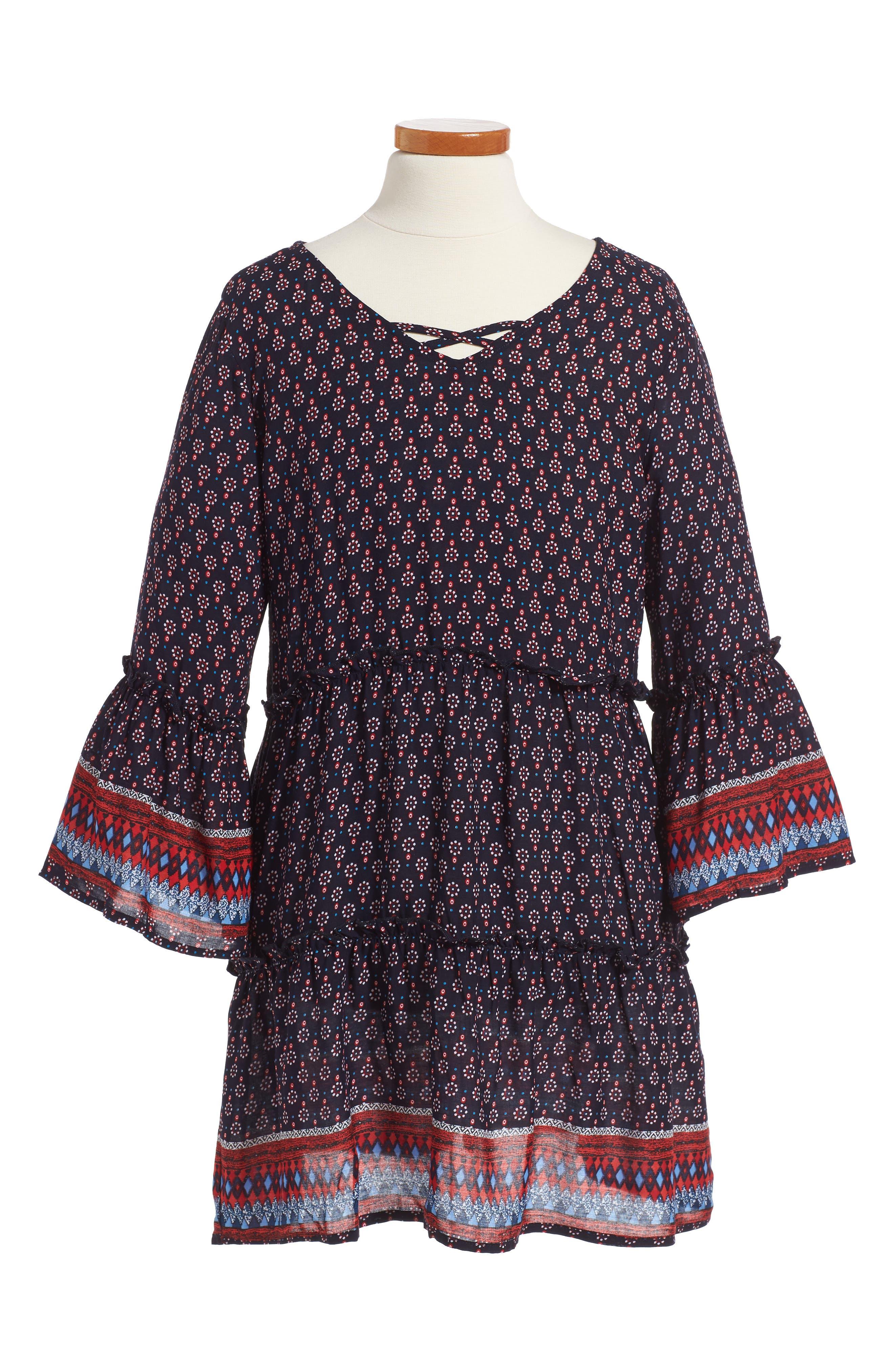 PPLA Maisy Print Dress (Big Girls)
