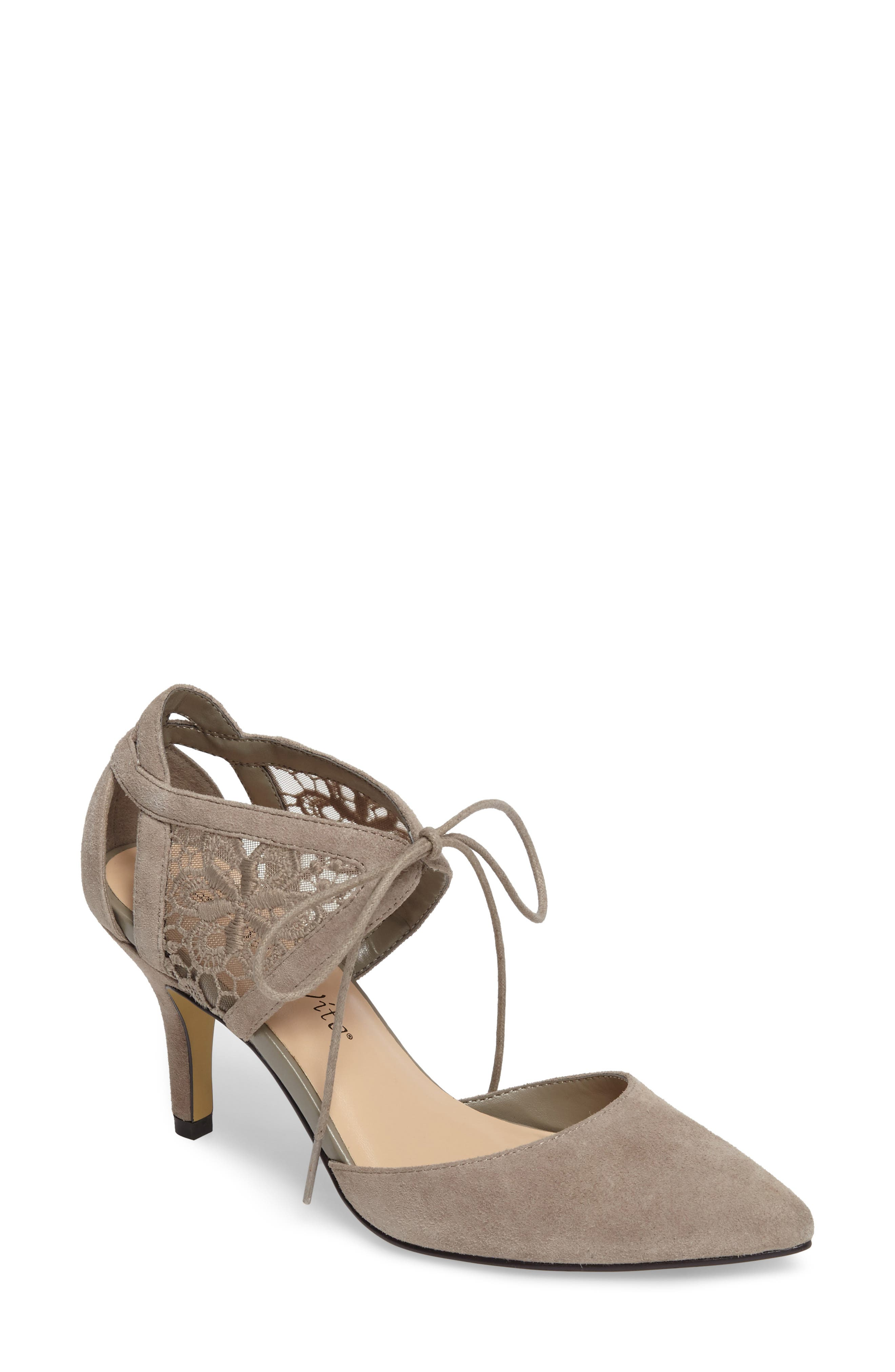 Bella Vita Demi Lace d'Orsay Pump (Women)