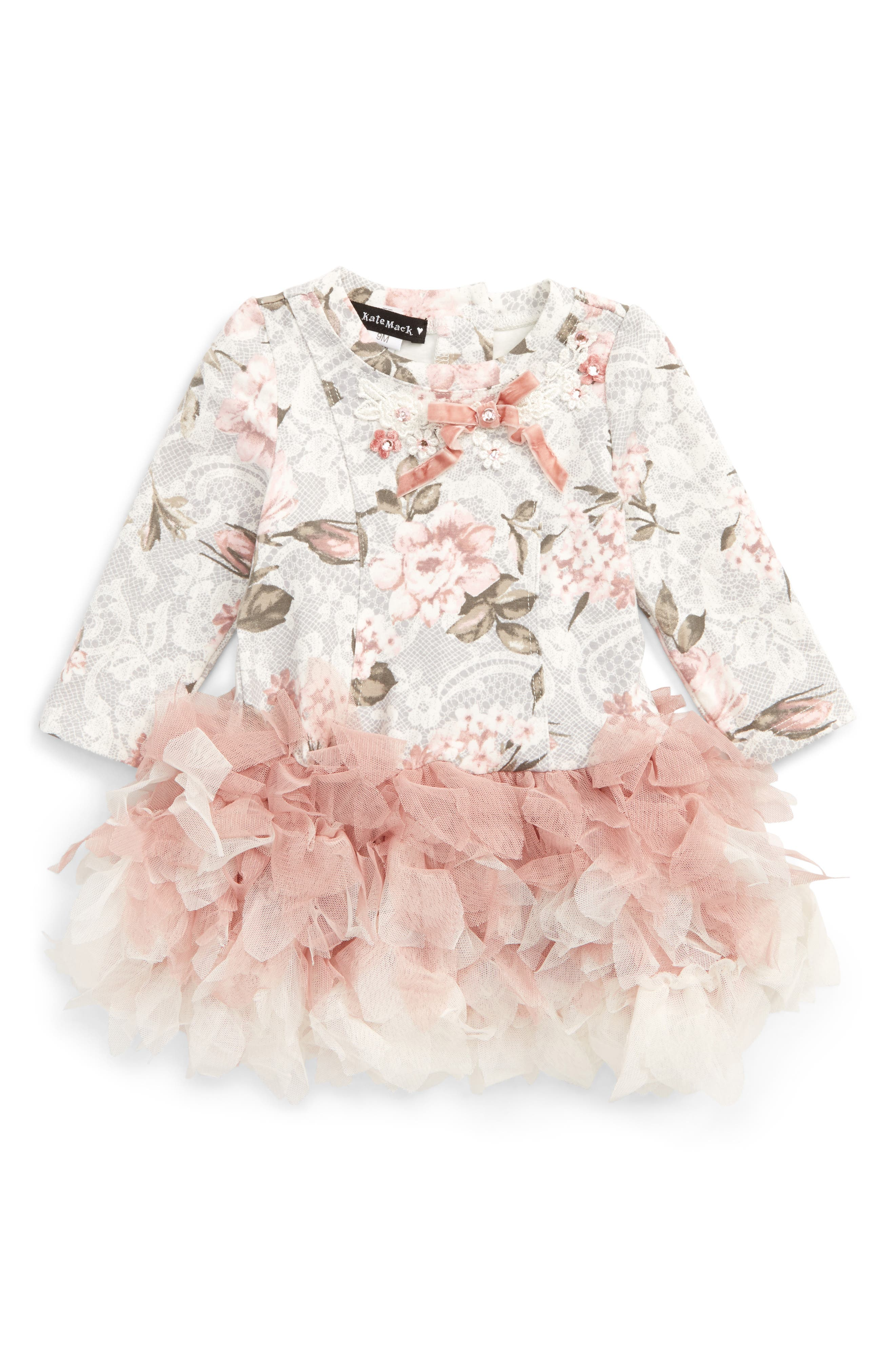 Kate Mack Tulle Dress (Baby Girls)
