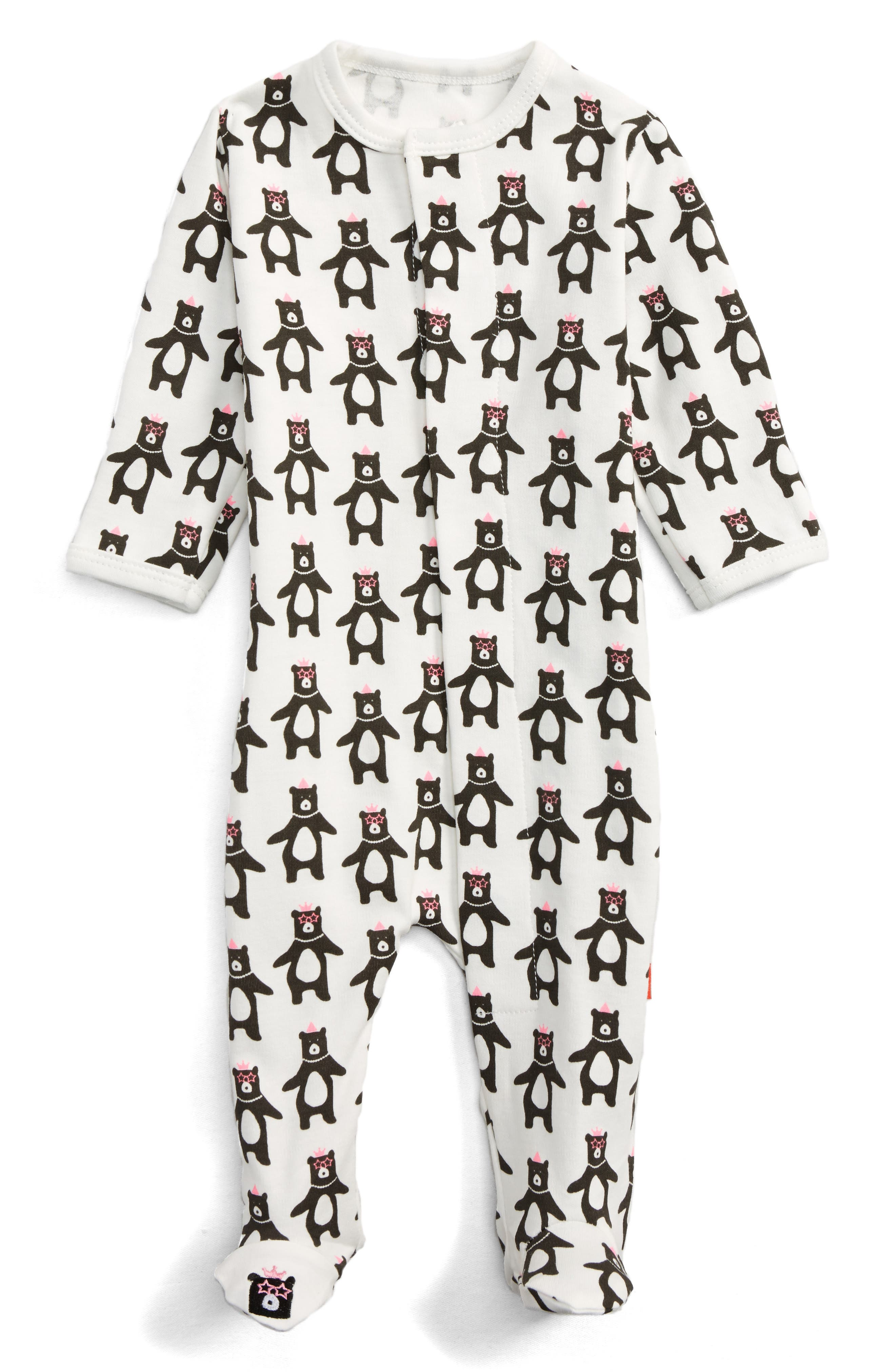 Magnetic Me Print Footie (Baby Girls)