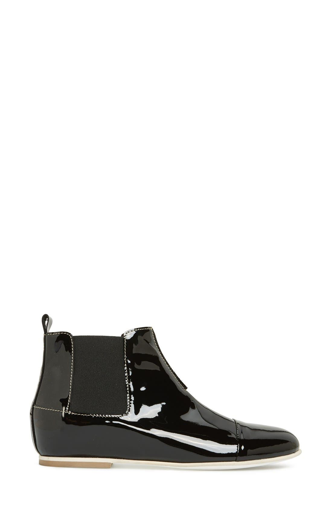 Alternate Image 5  - Aquatalia by Marvin K. 'Chime' Weatherproof Patent Leather Chelsea Boot (Women)