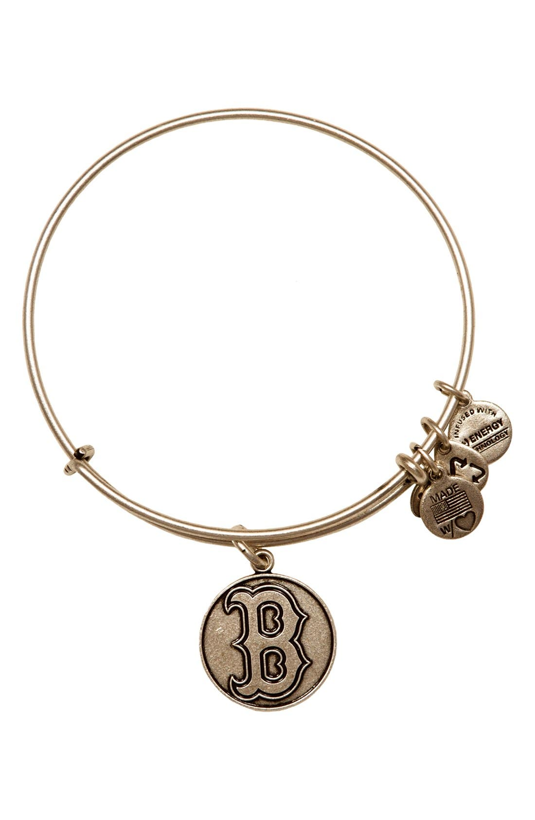Alternate Image 1 Selected - Alex and Ani 'Boston Red Sox' Expandable Charm Bangle
