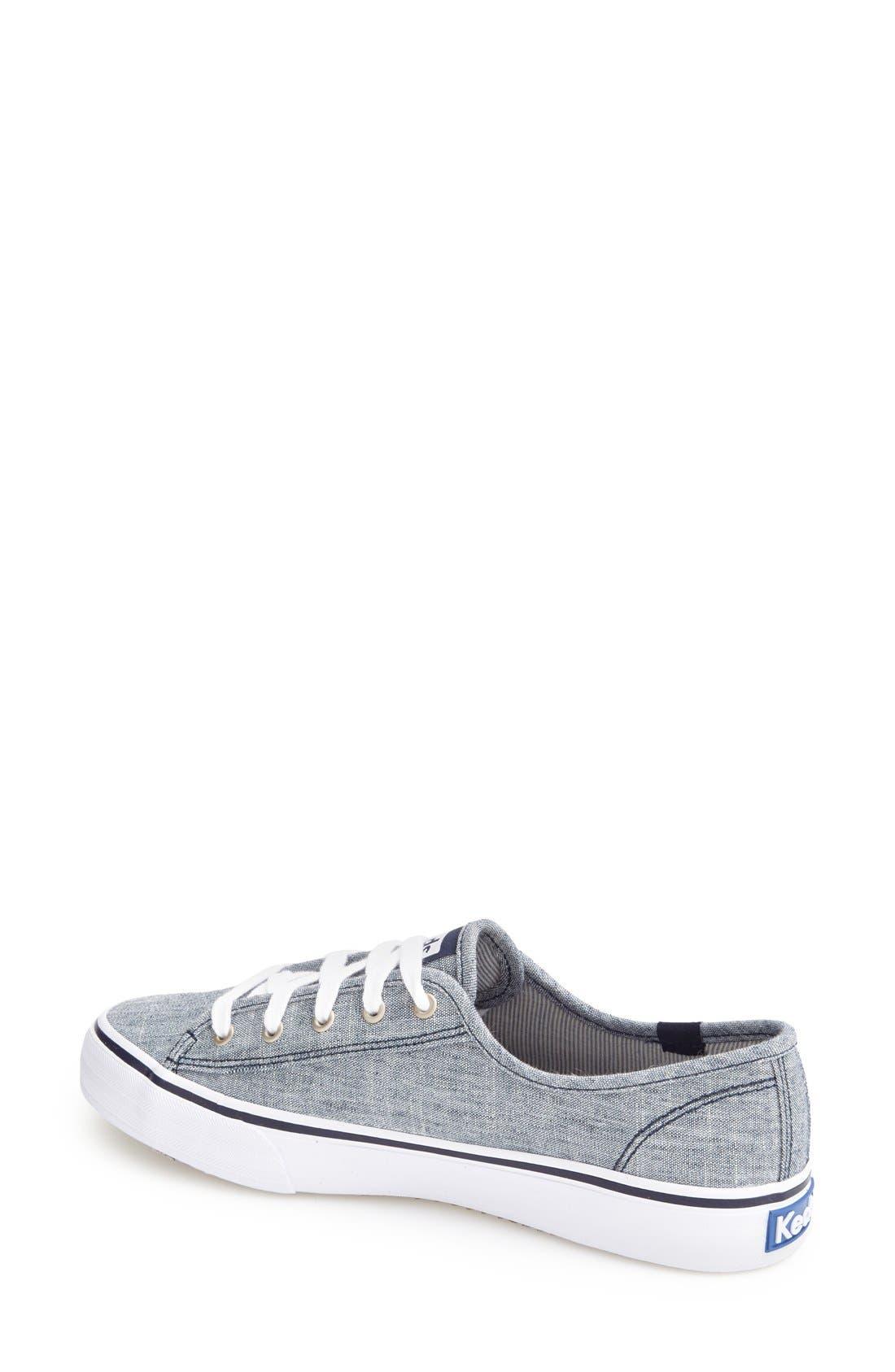 Alternate Image 2  - Keds® 'Double Up - Linen' Sneaker (Women)