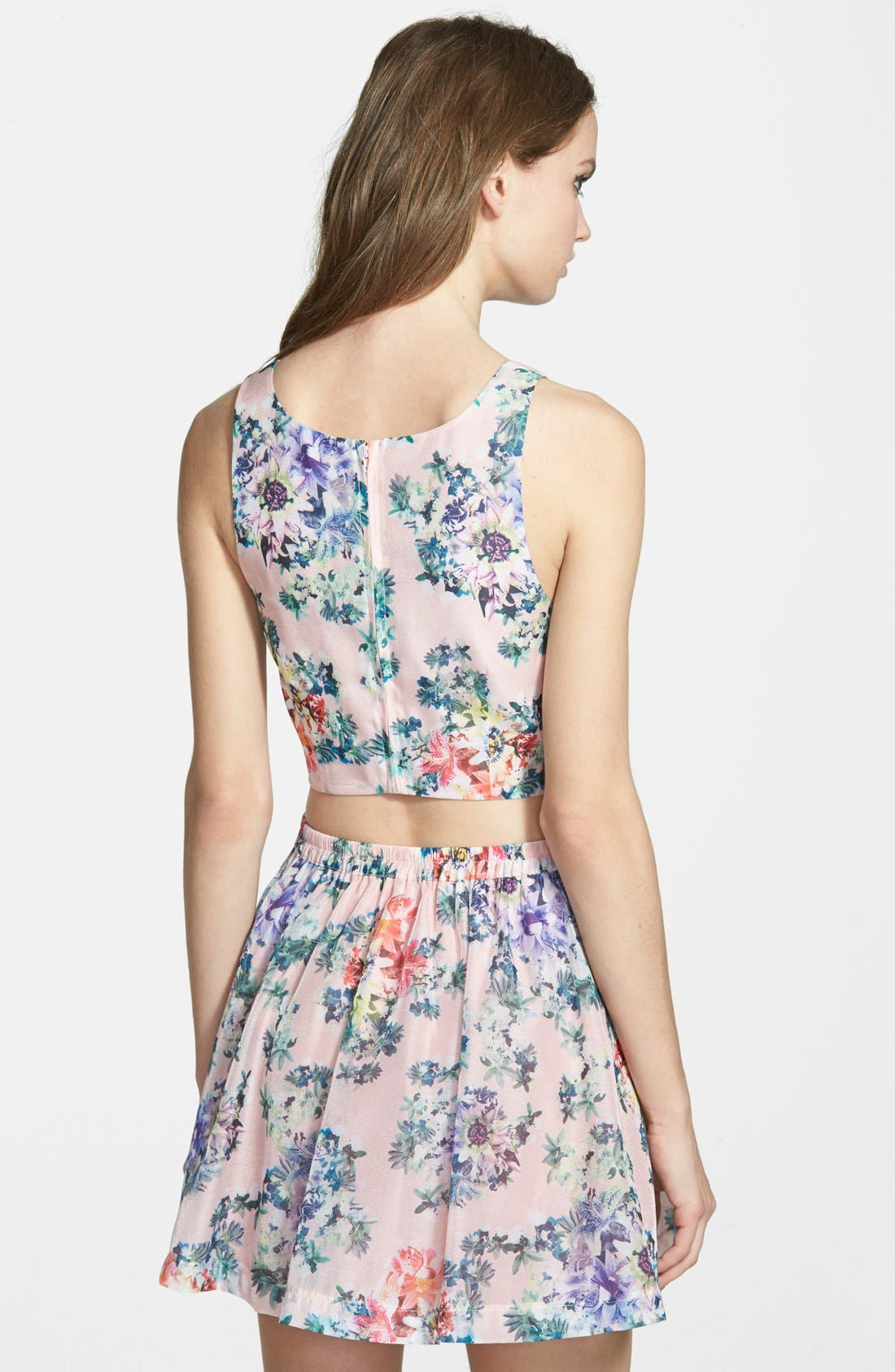 Alternate Image 2  - Lucca Couture Floral Top