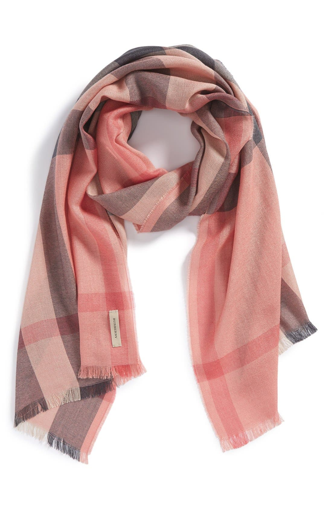 Main Image - Burberry Check Scarf