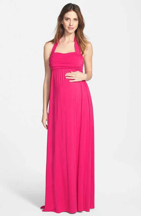 Ingrid   Isabel® Convertible Maxi Maternity Dress