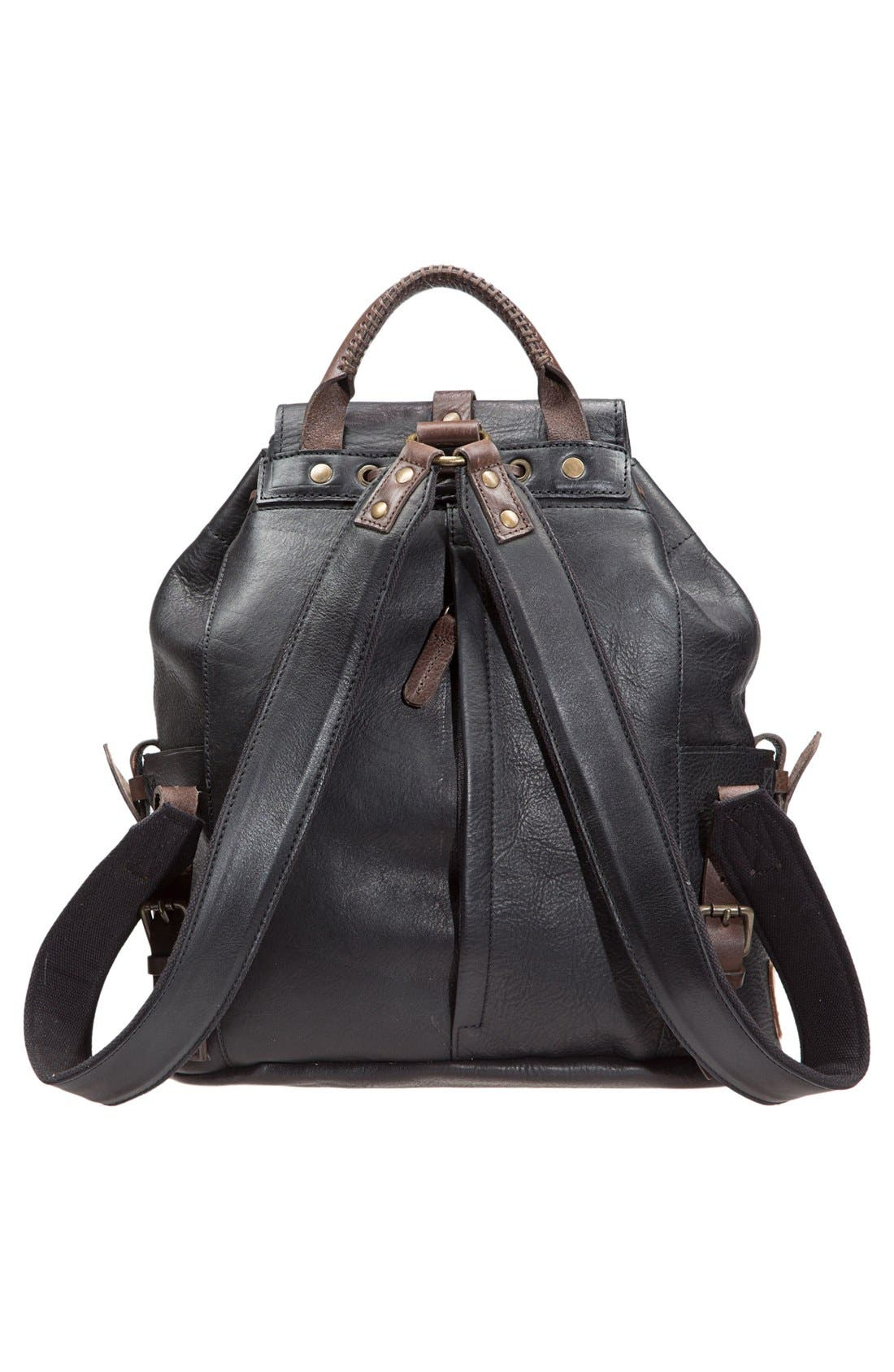 Alternate Image 2  - Will Leather Goods 'Rainier' Leather Backpack