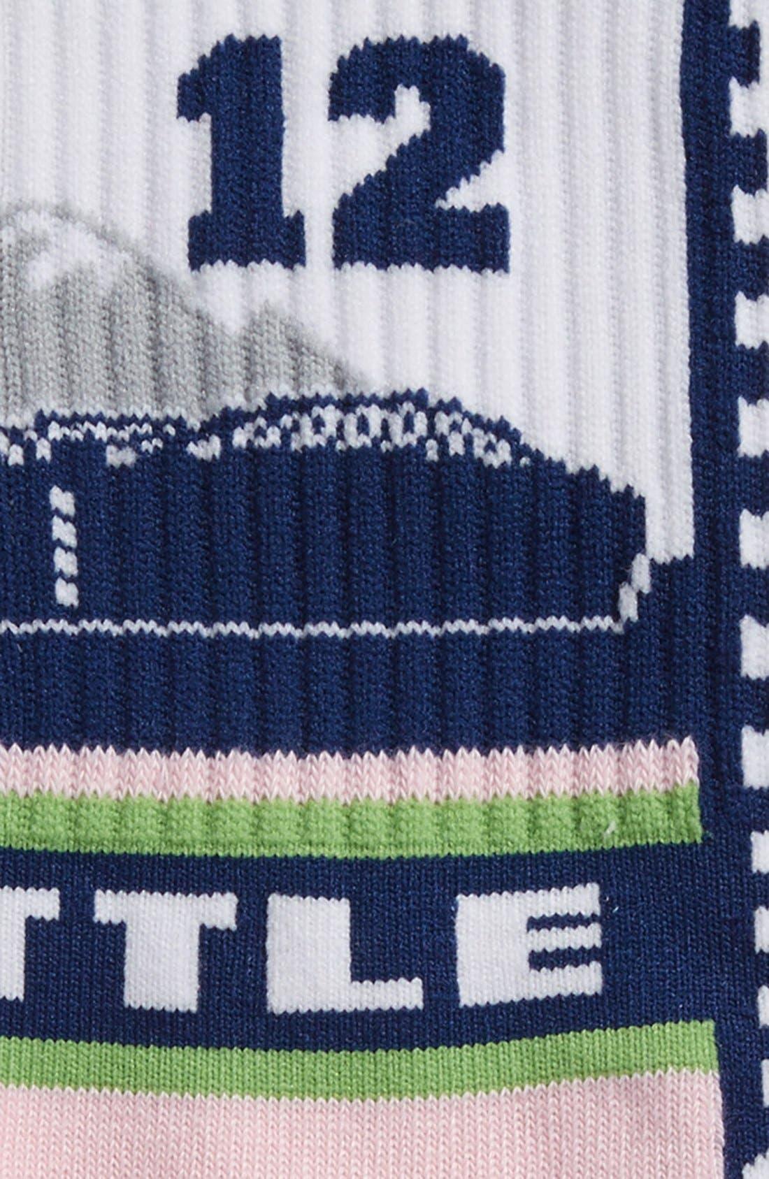 Alternate Image 2  - G206 Wear 'Seattle Seahawks - Hawk Nation' Socks (Big Kids)