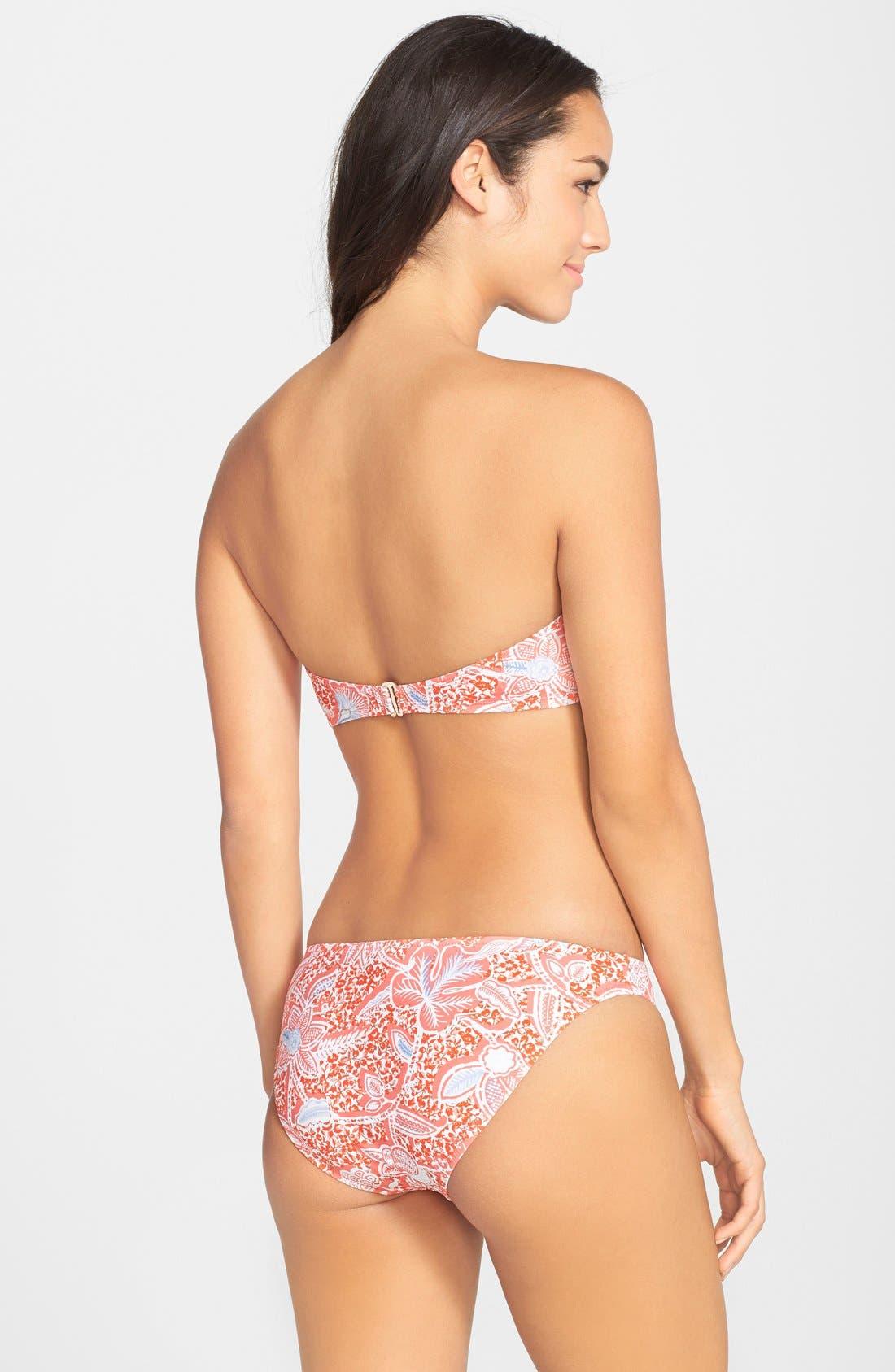 Alternate Image 4  - Tory Burch 'Emmarentia' Underwire Bustier Bikini Top