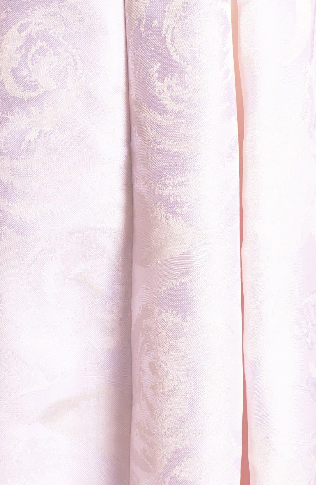 Alternate Image 3  - Adrianna Papell Jacquard Midi Dress (Regular & Petite)