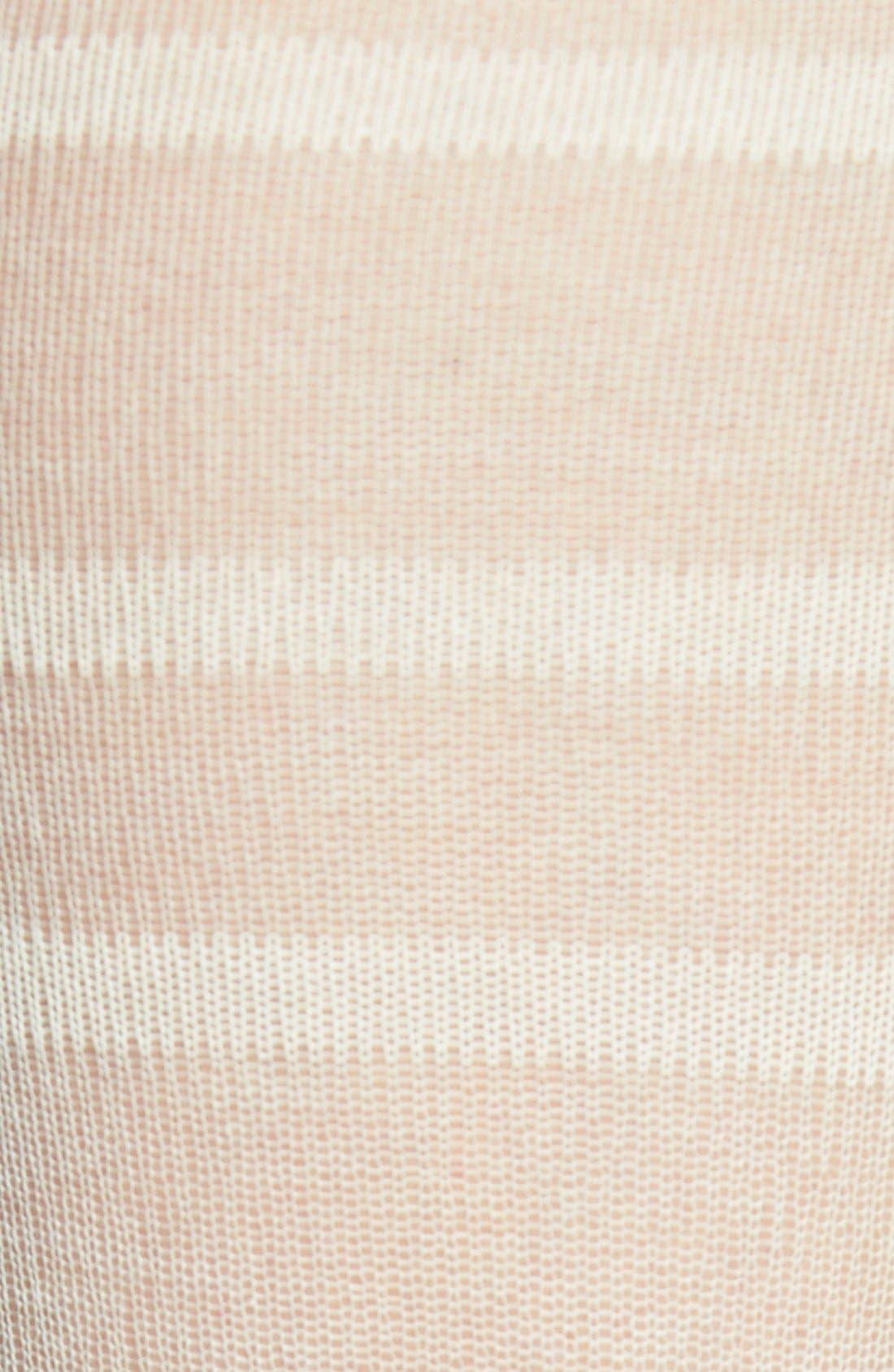 Alternate Image 2  - Oroblu 'Calzino Nellie' Sheer Stripe Trouser Socks