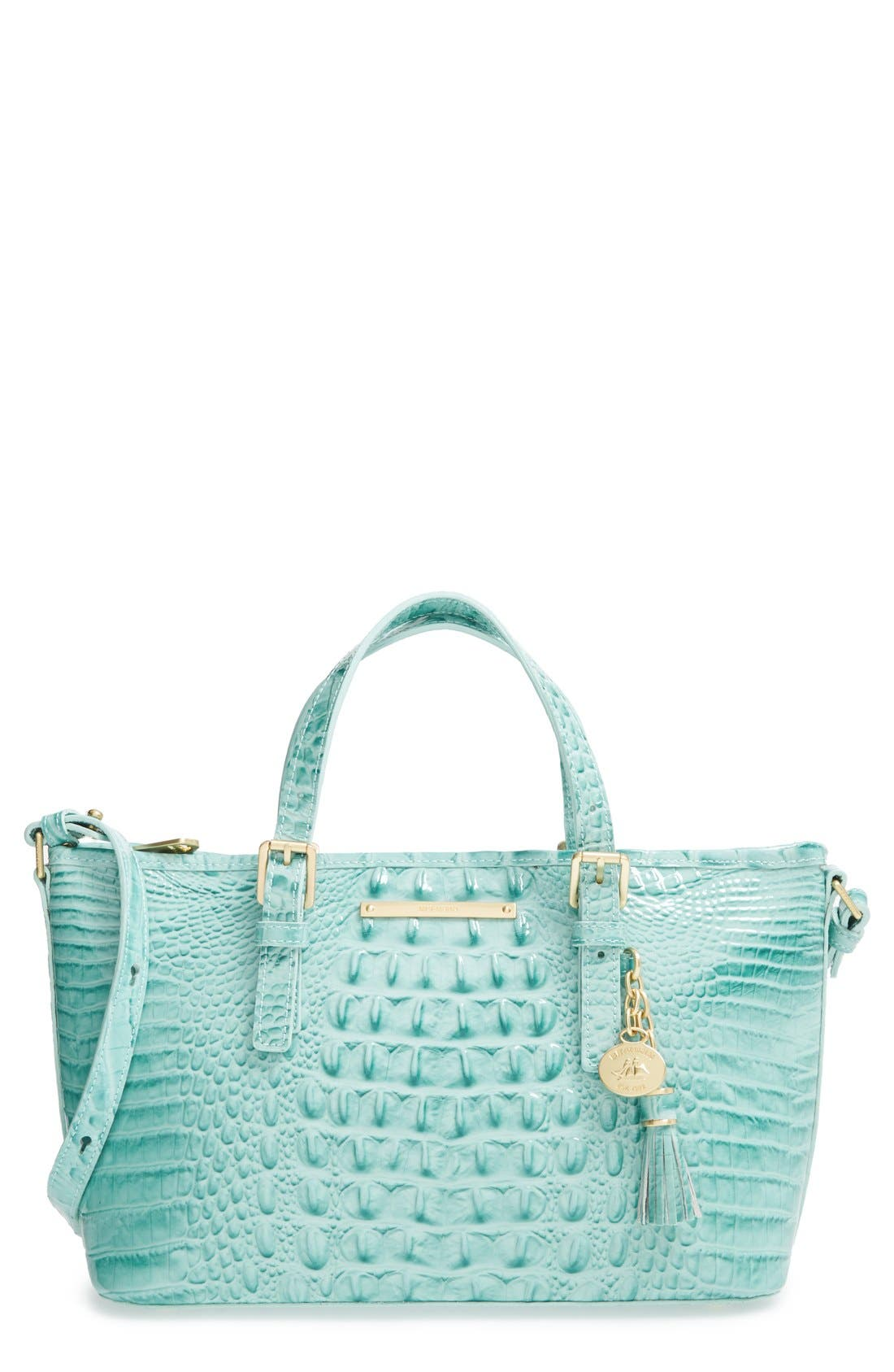 Alternate Image 1 Selected - Brahmin 'Melbourne - Mini Asher' Croc Embossed Leather Tote